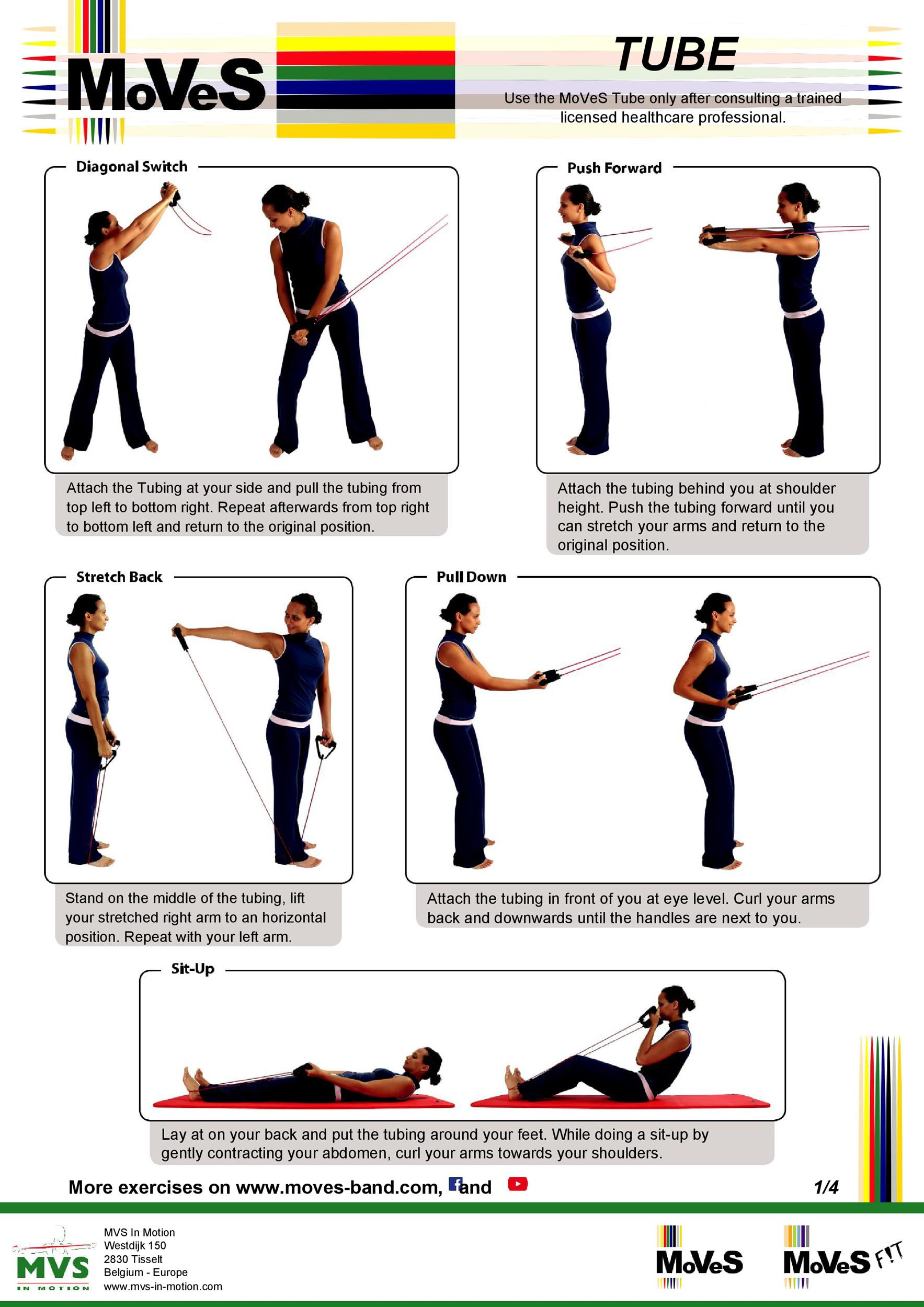 photograph relating to Printable Resistance Band Exercises known as 46 Printable Fitness Charts (100% Free of charge) ᐅ Template Lab