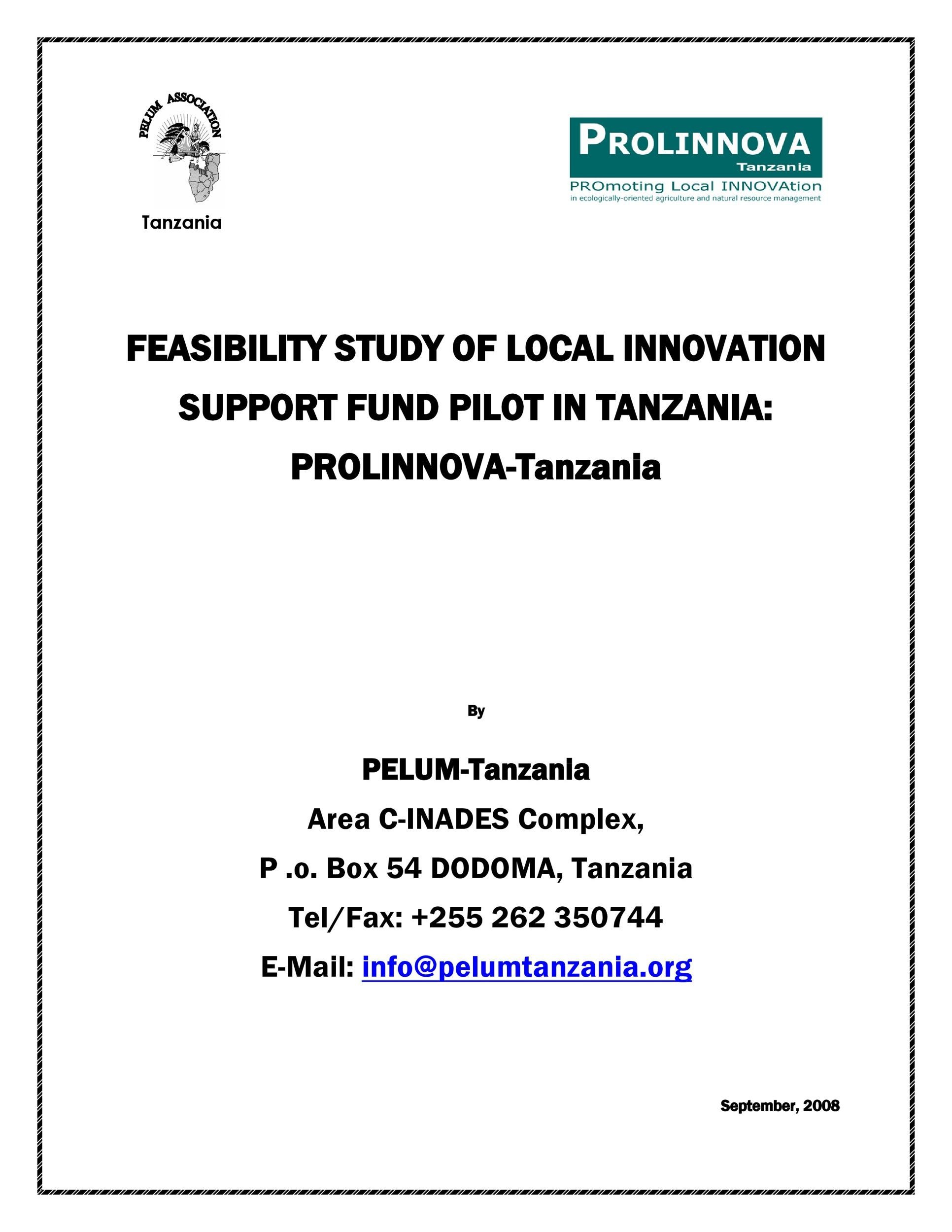 Free feasibility study example 02