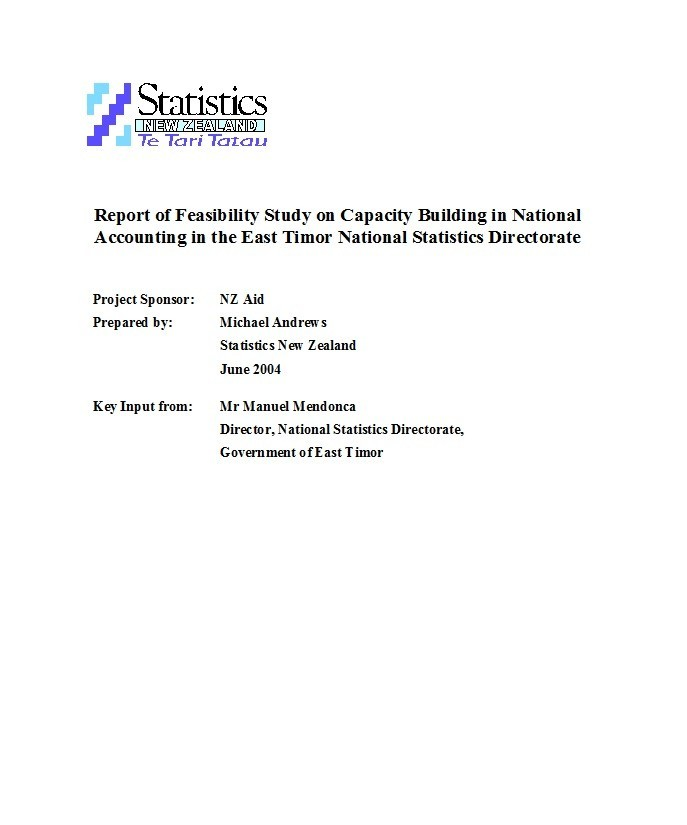 Free feasibility study example 19
