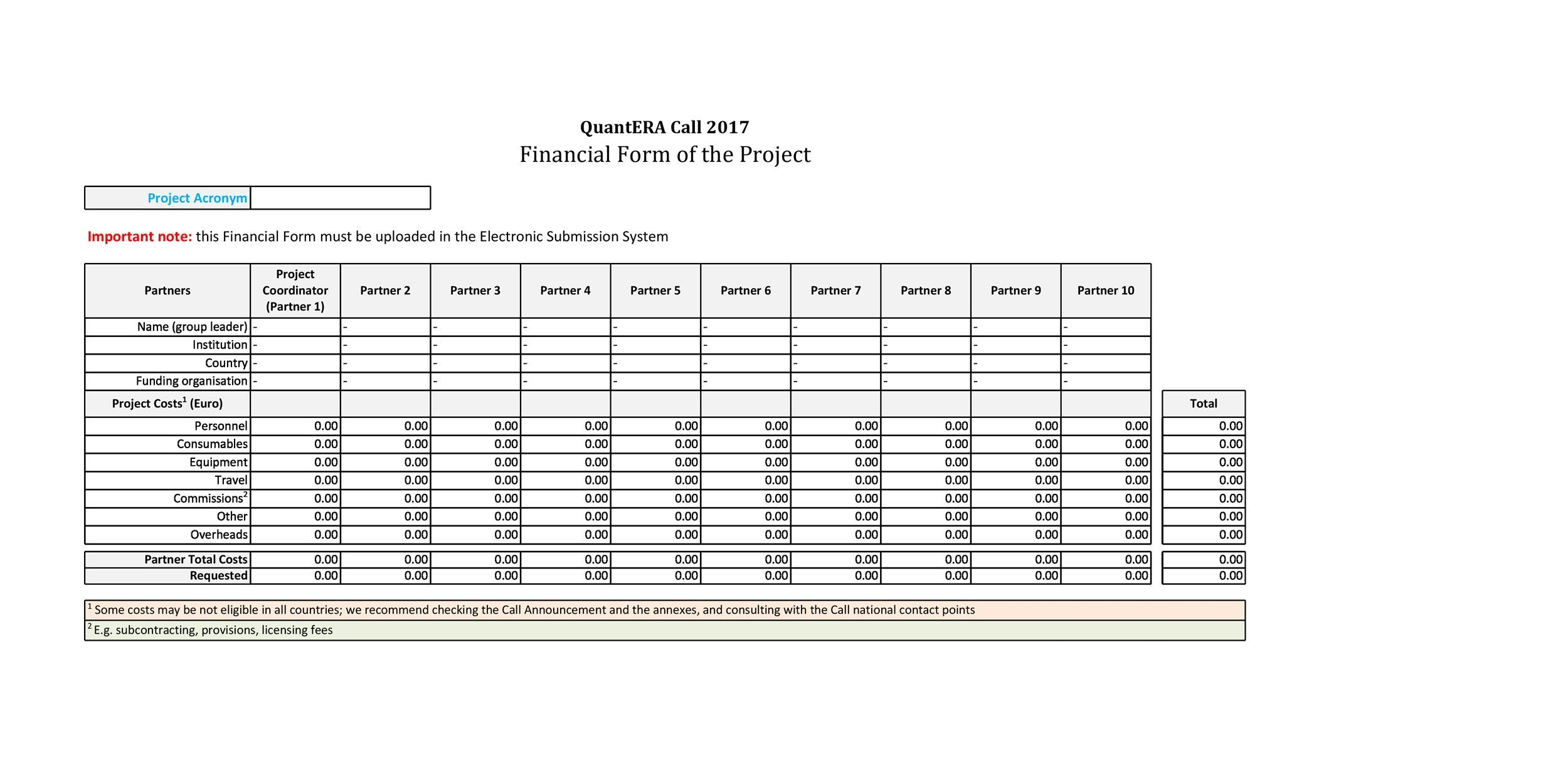 Free financial plan template 43