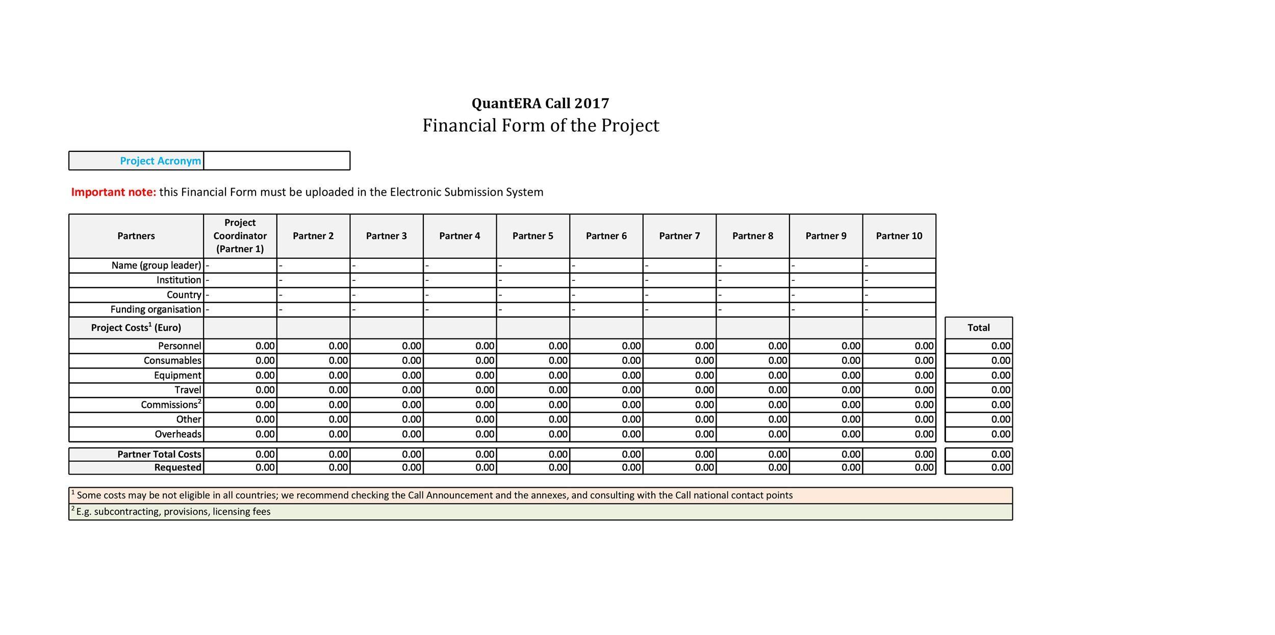 Free financial plan template 43