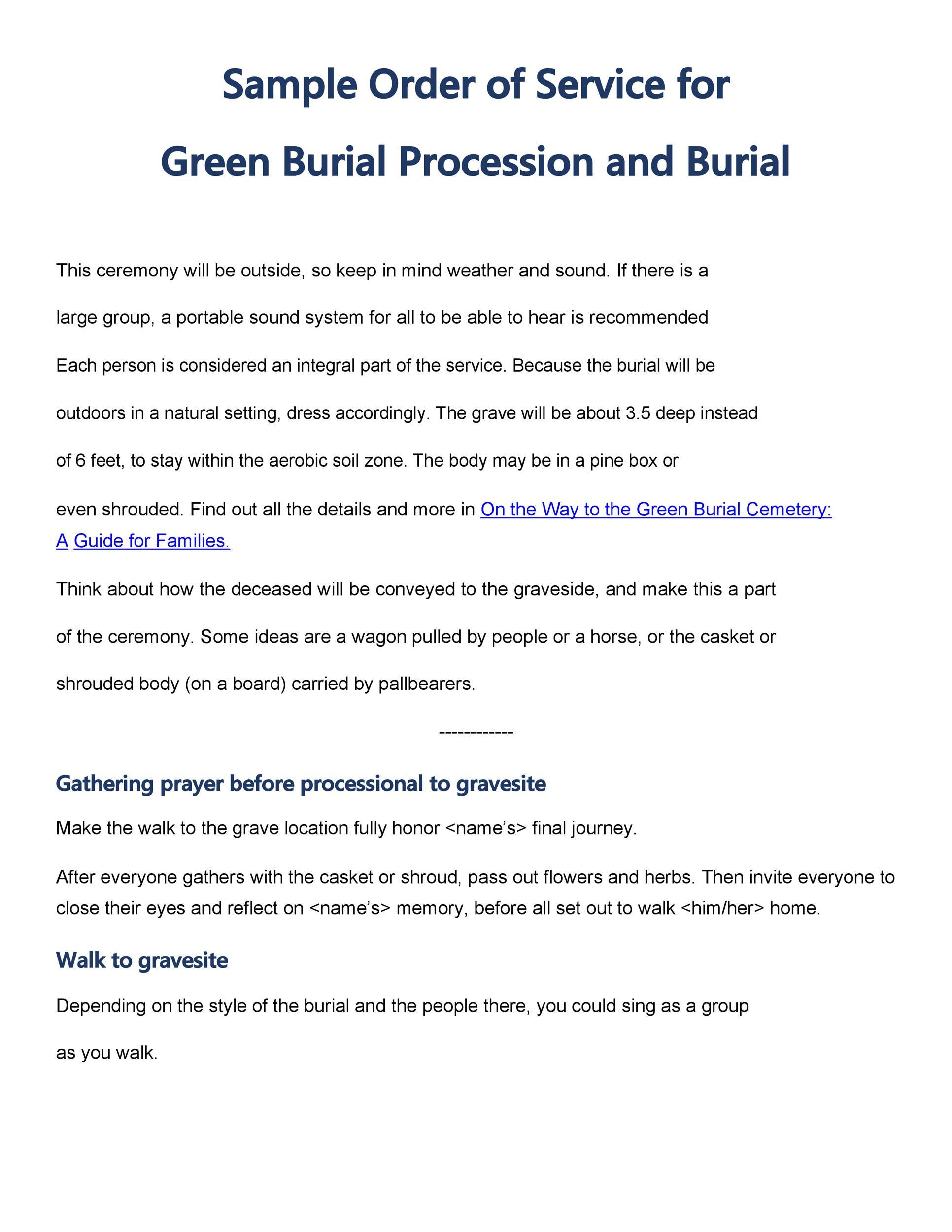 Free funeral program template 01