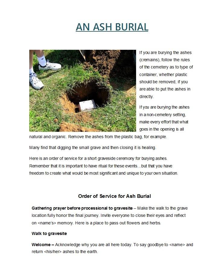 Free funeral program template 33