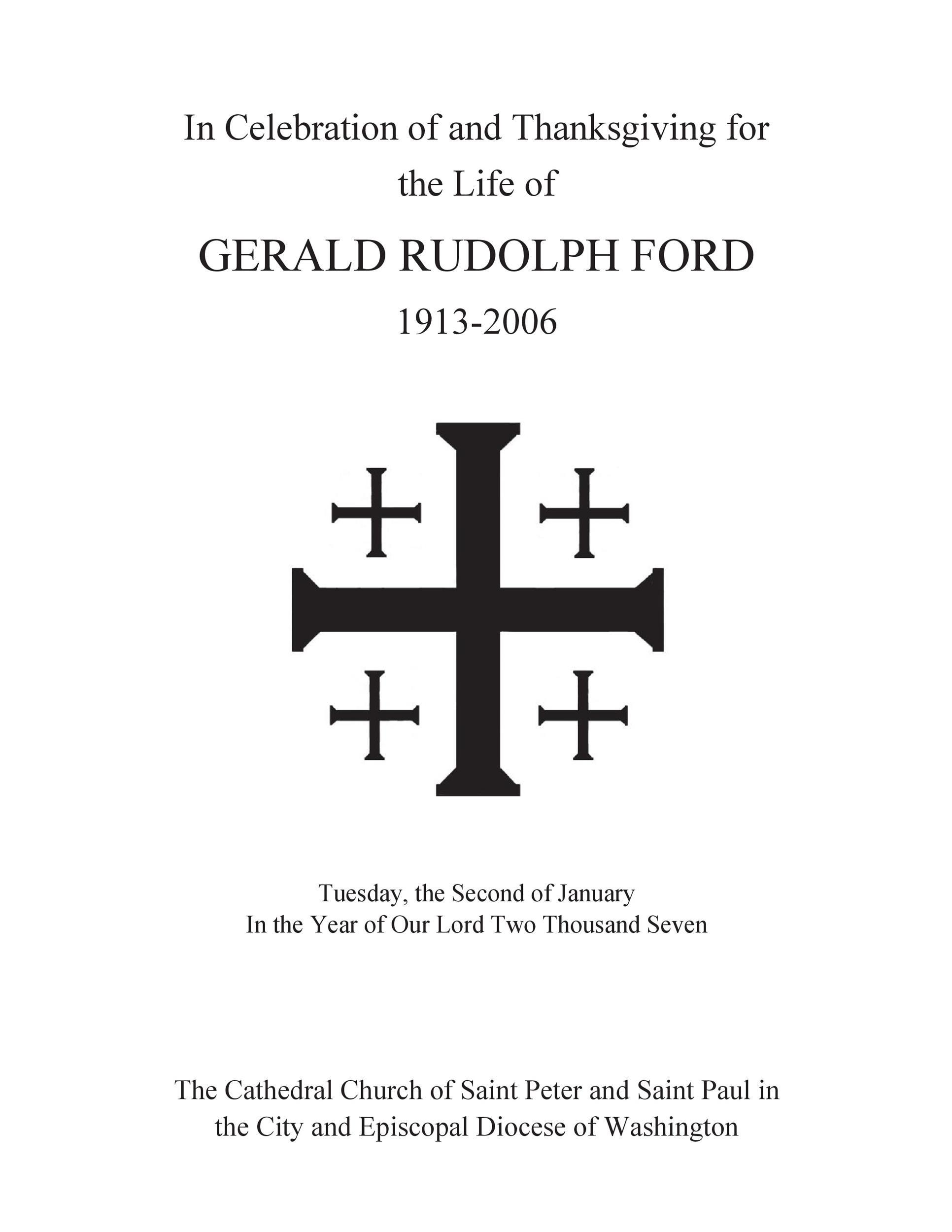 Free funeral program template 37