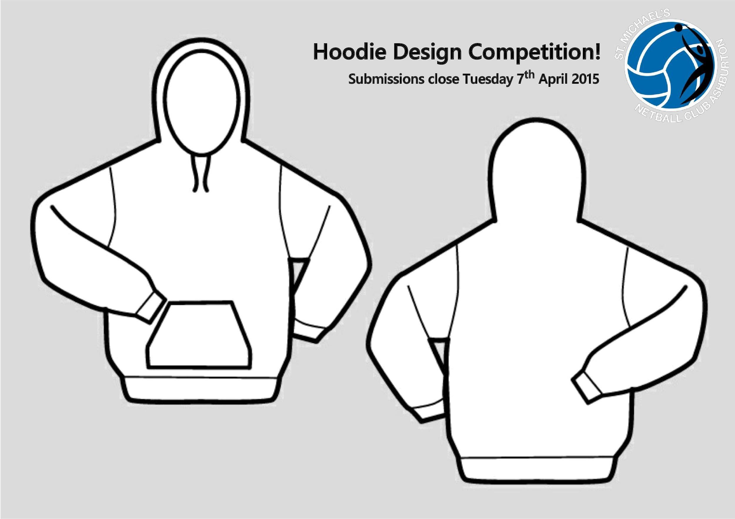 Free hoodie template 08