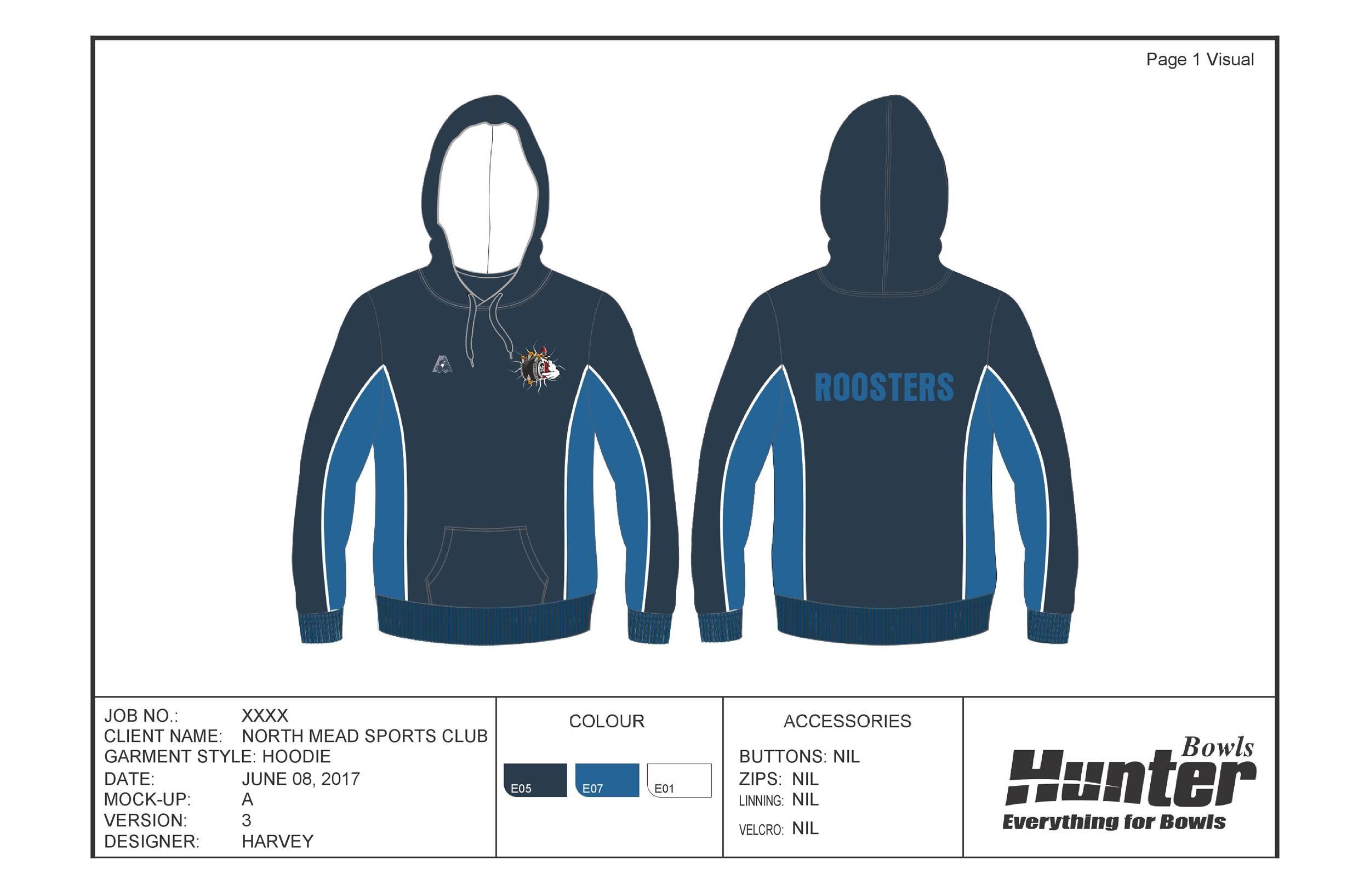 Free hoodie template 09