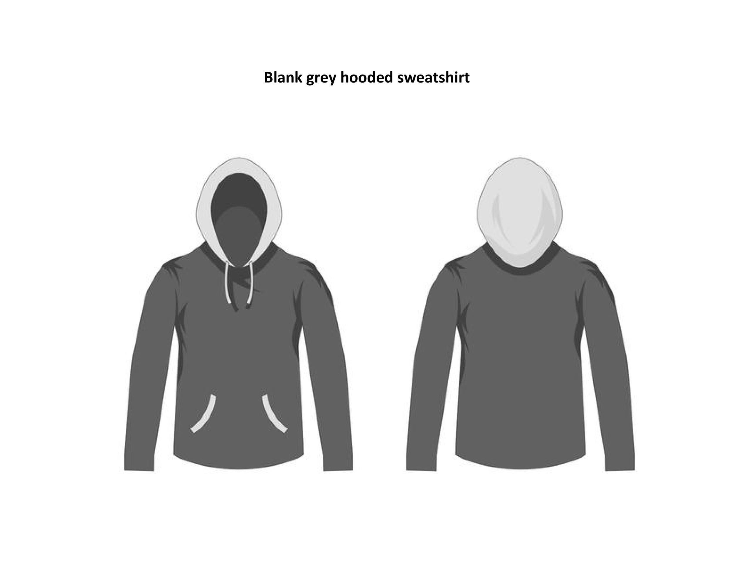 Free hoodie template 26