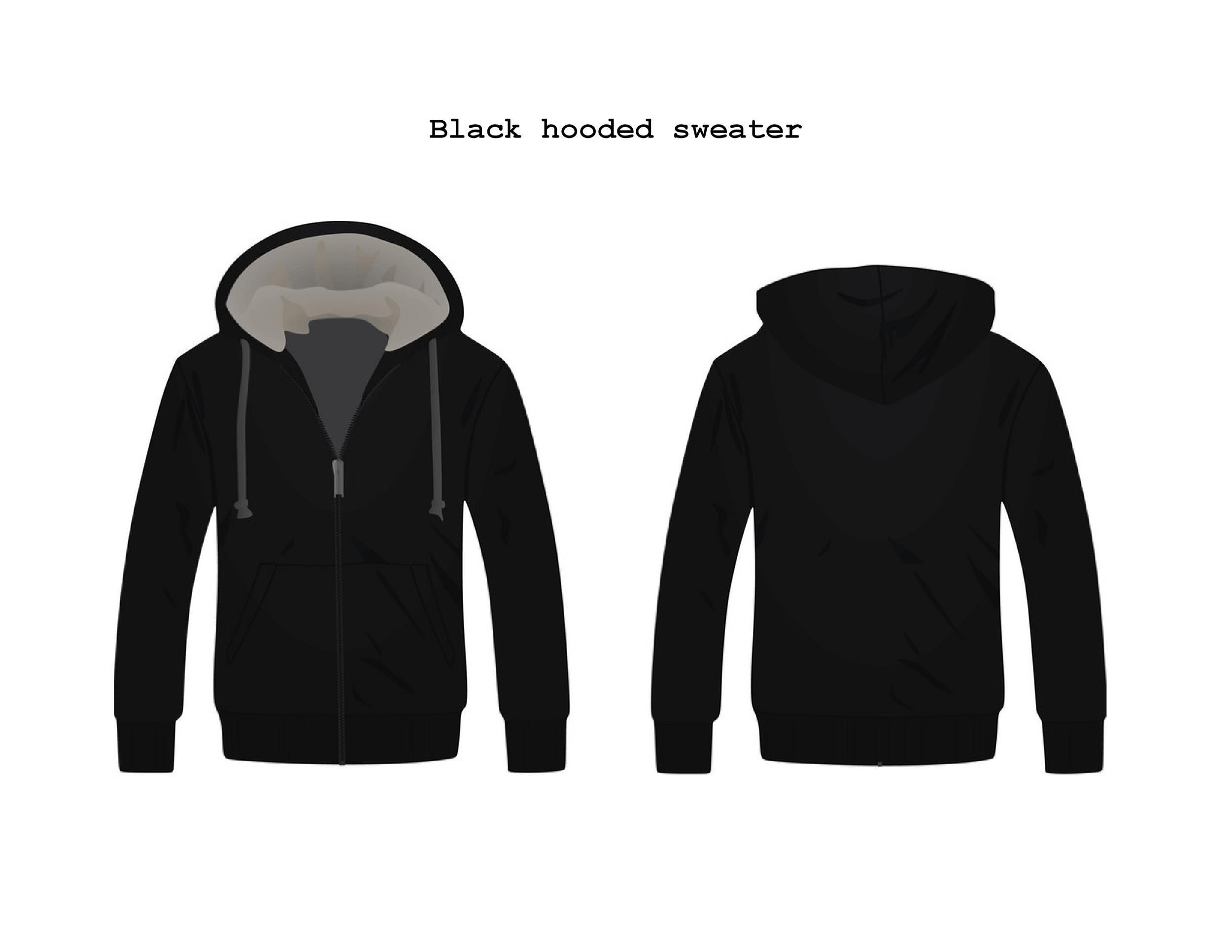 Free hoodie template 32