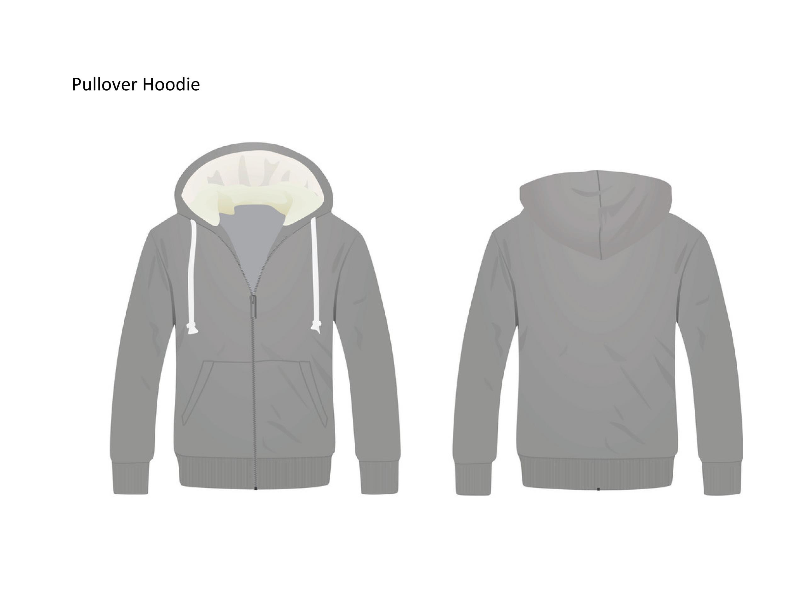 Free hoodie template 36