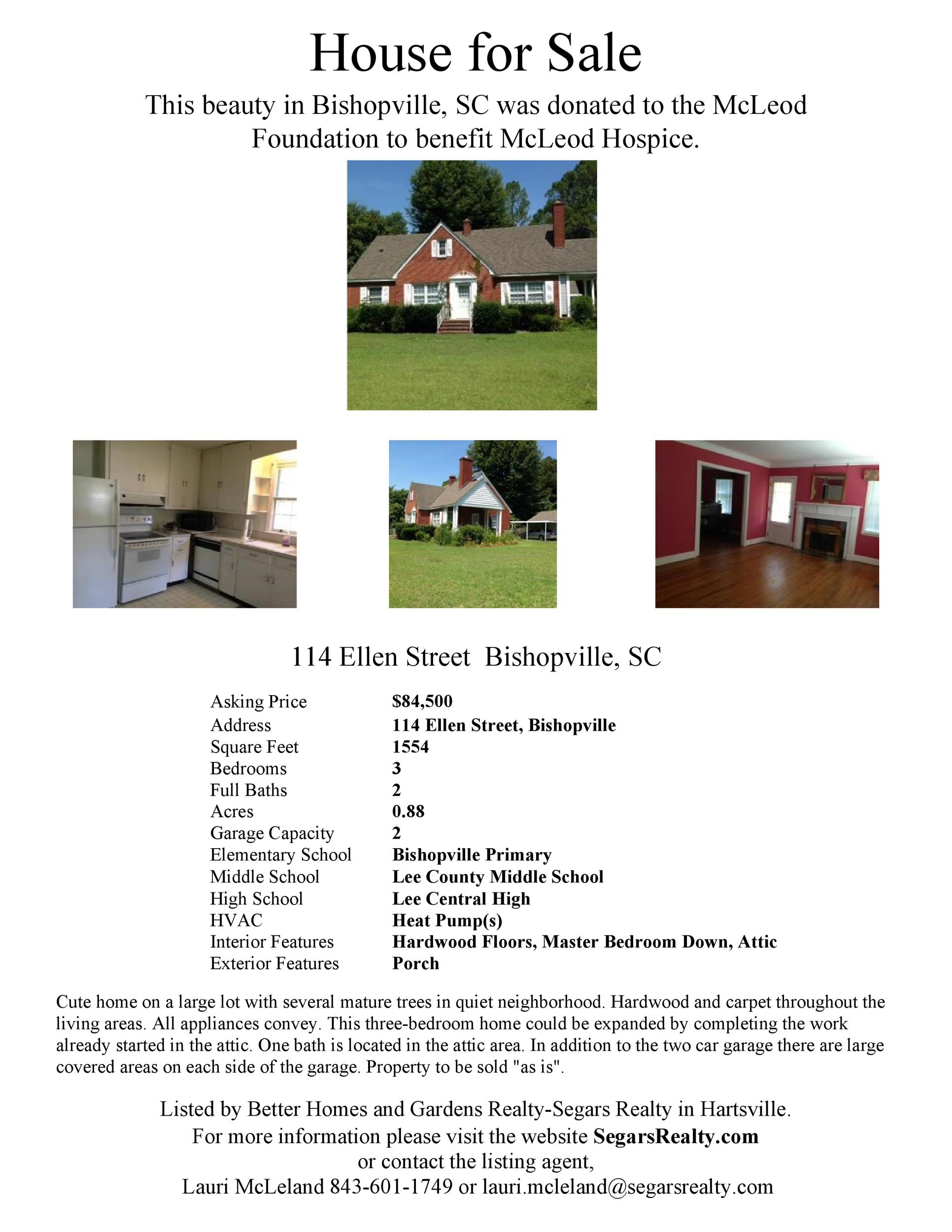 Free house for sale flyer 01