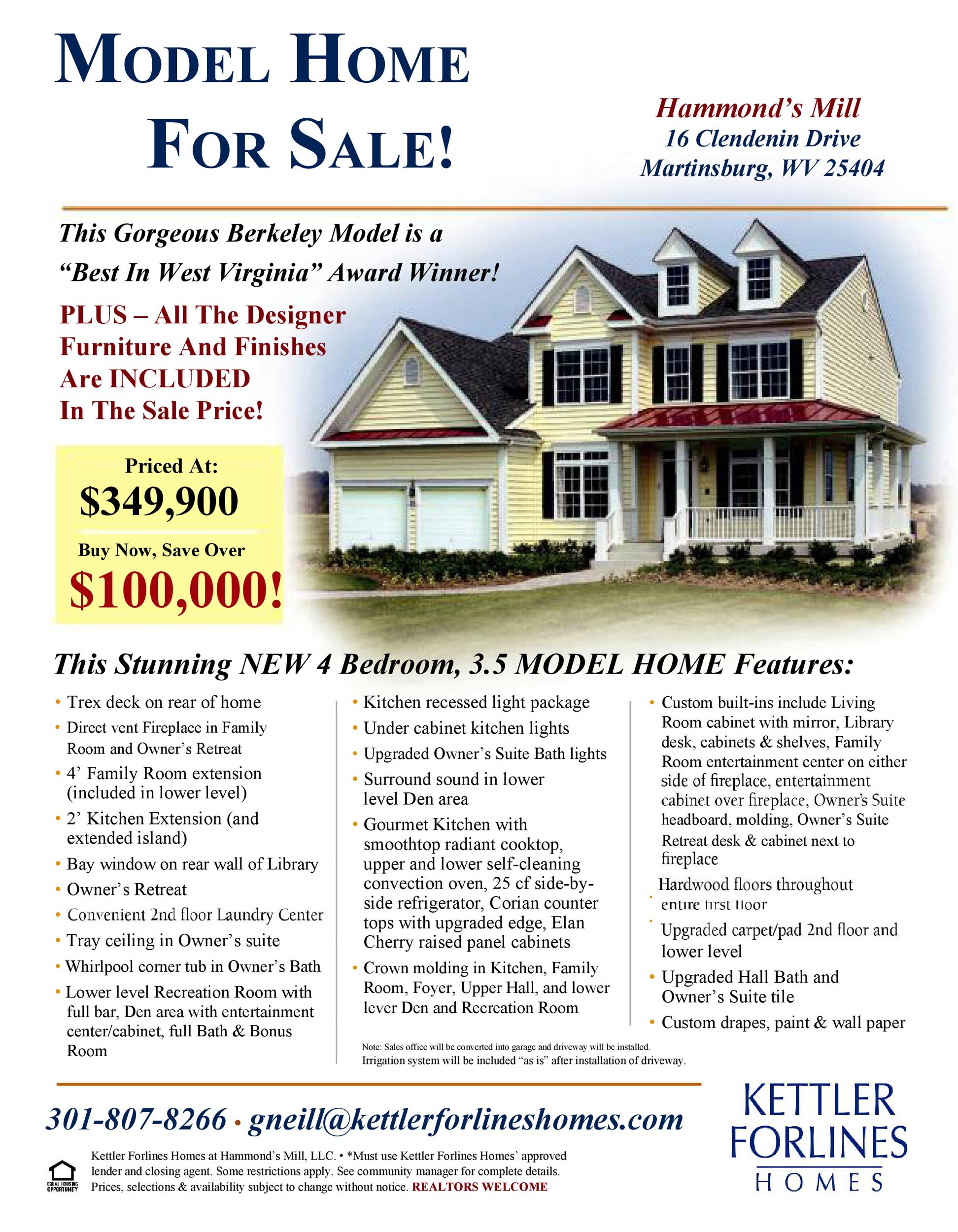 Free house for sale flyer 24