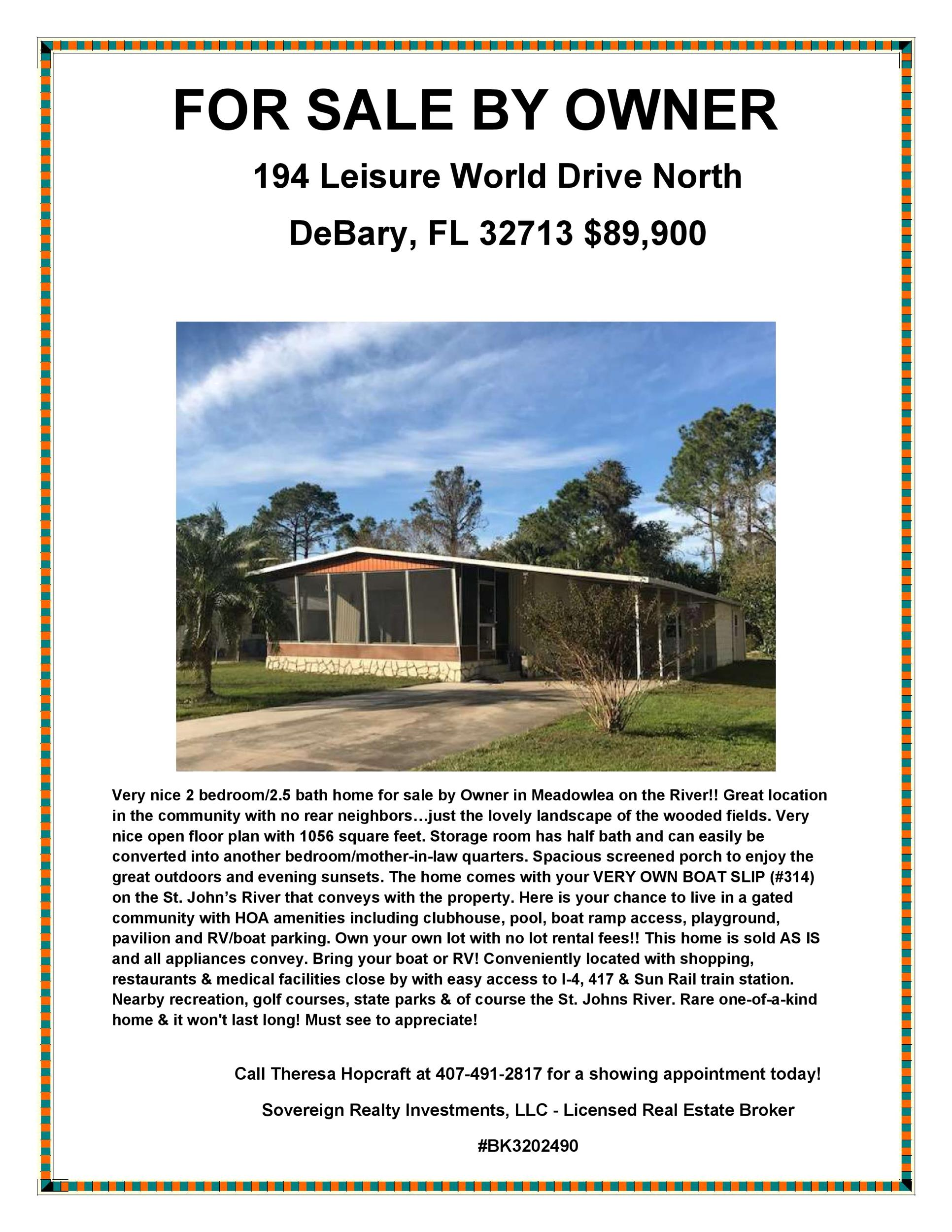 Free house for sale flyer 37