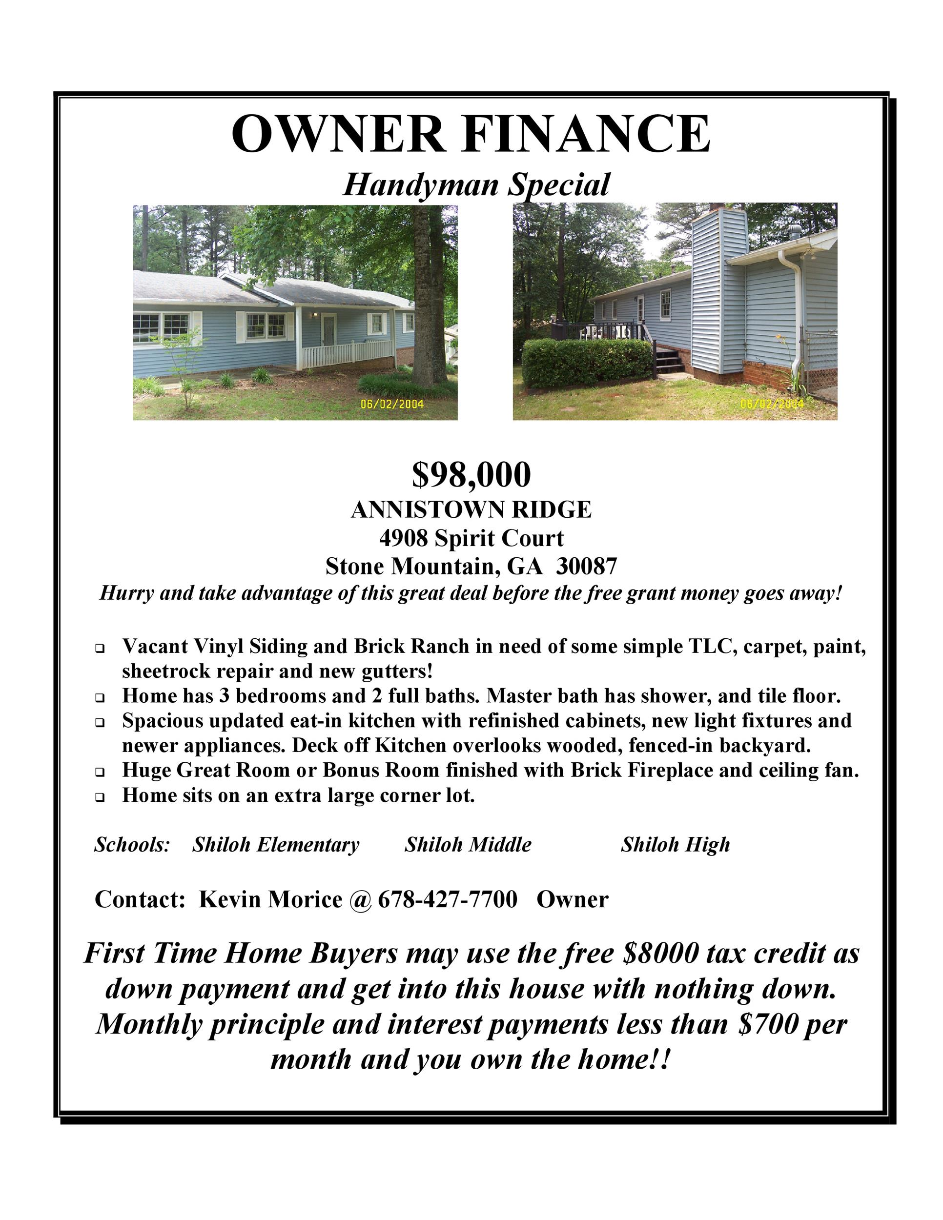Free house for sale flyer 40