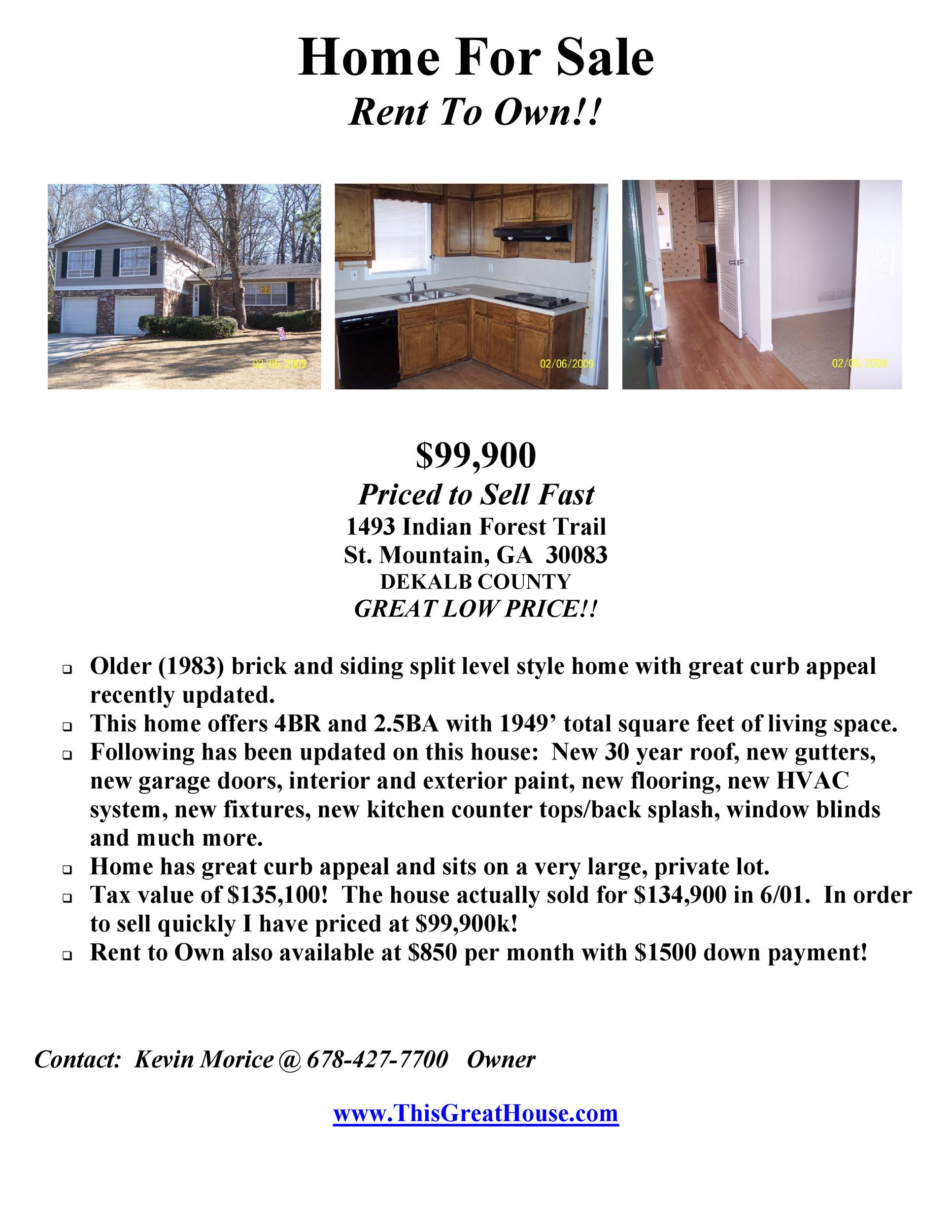 Free house for sale flyer 41