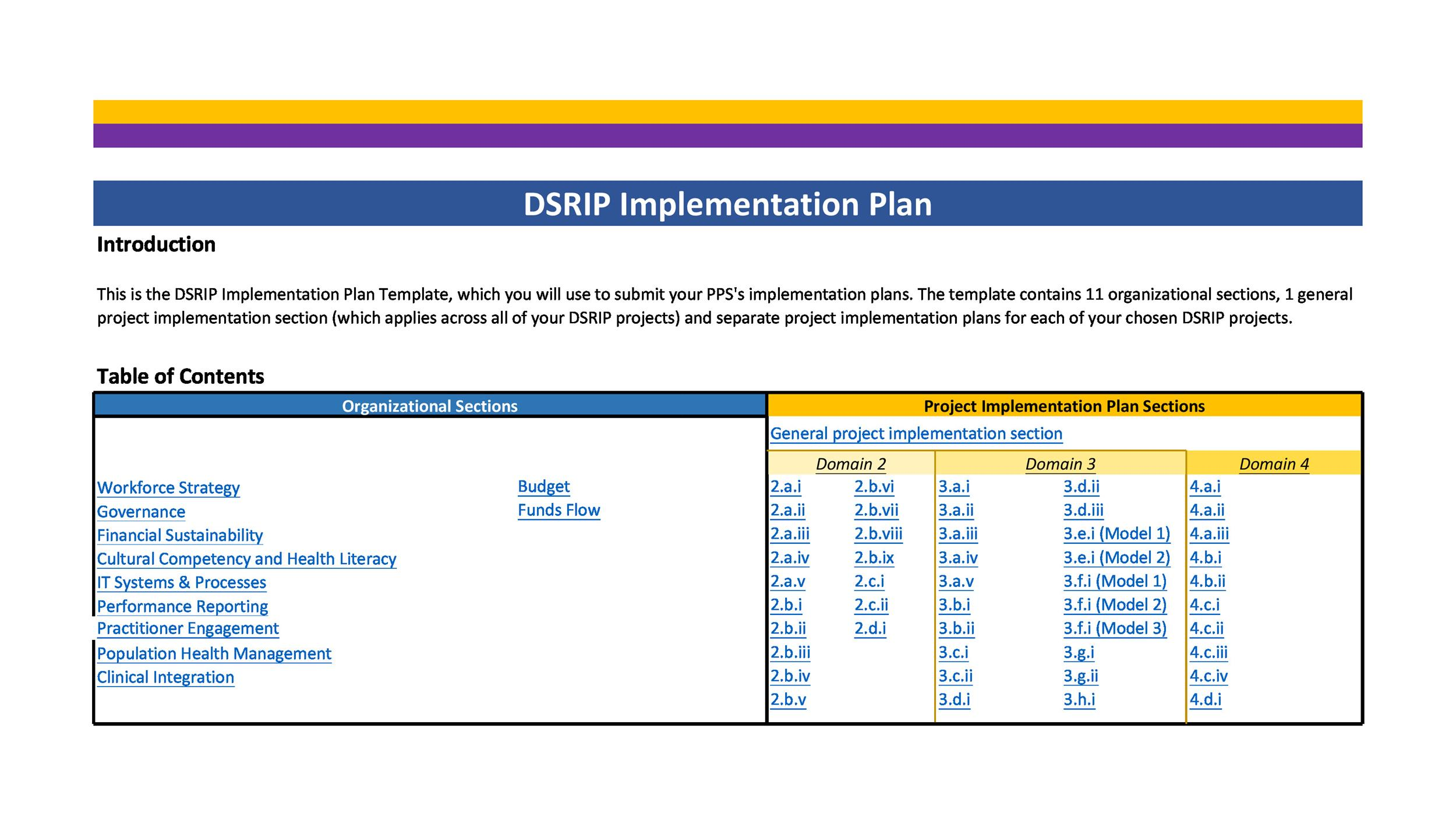 Free implementation plan 21