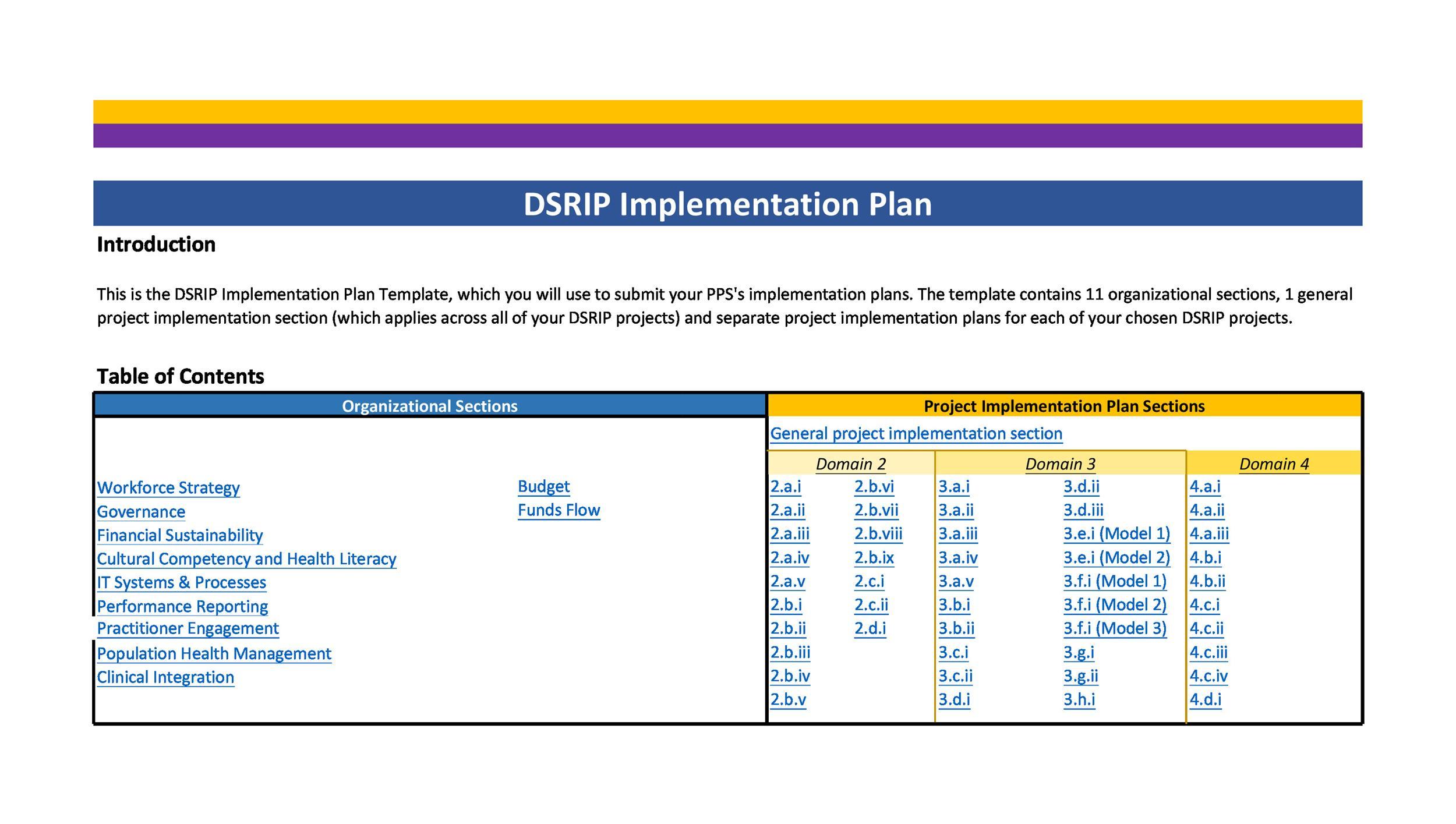 Free implementation plan 21