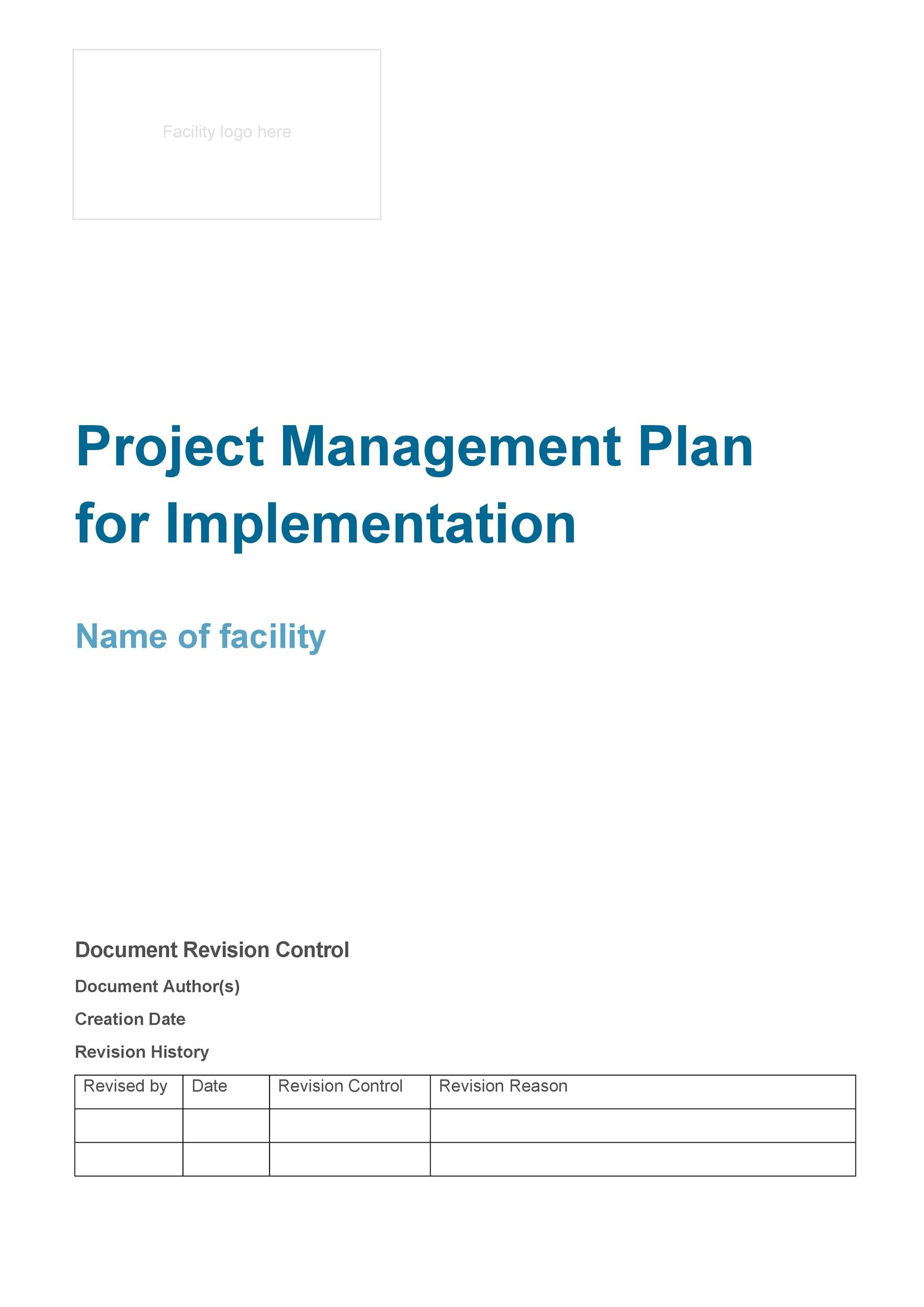 Free implementation plan 23