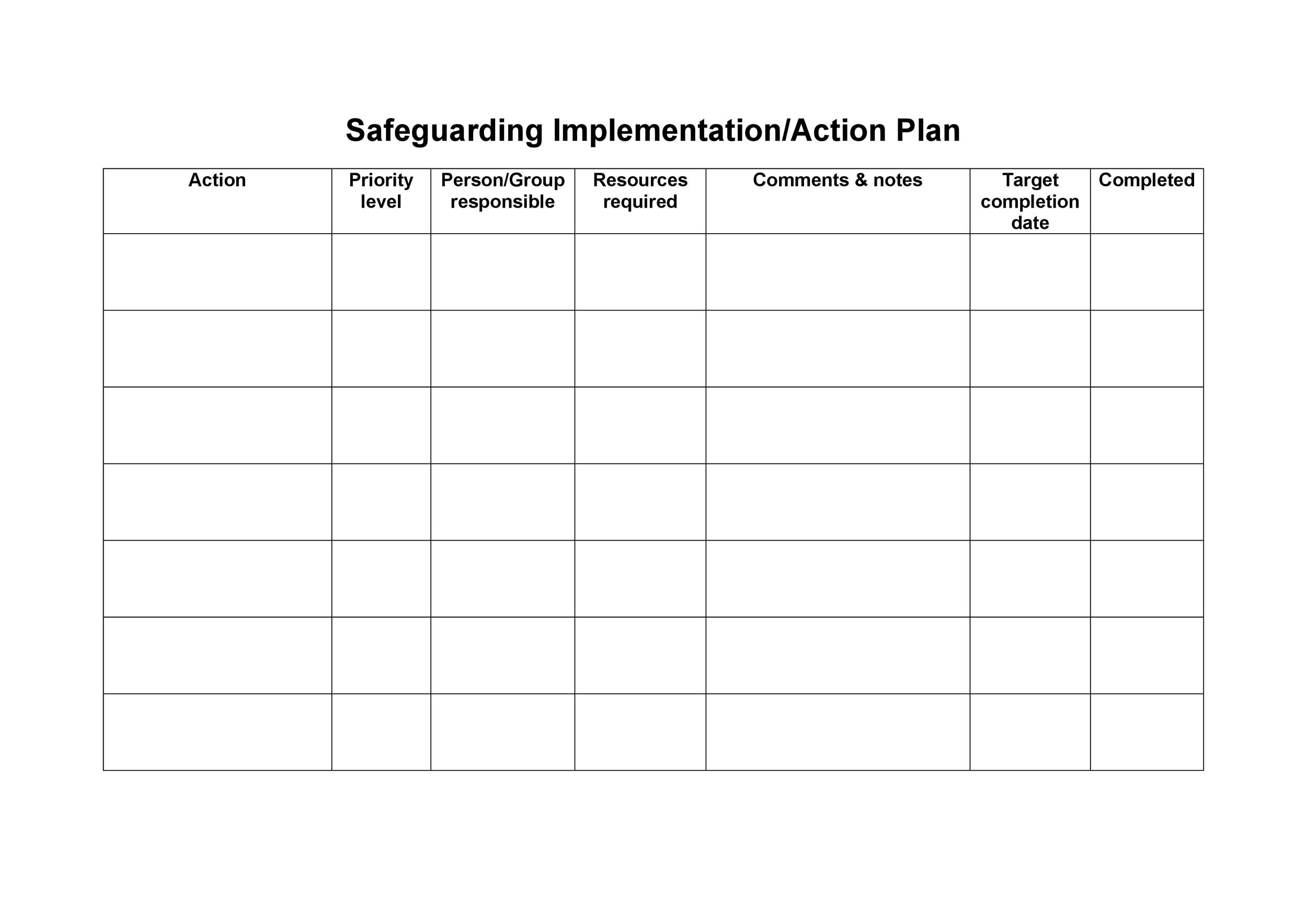 Free implementation plan 34