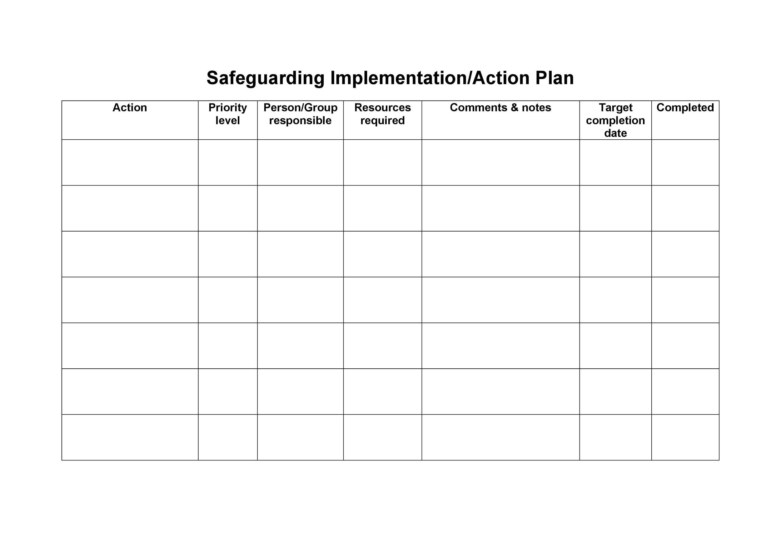 Free implementation plan 34
