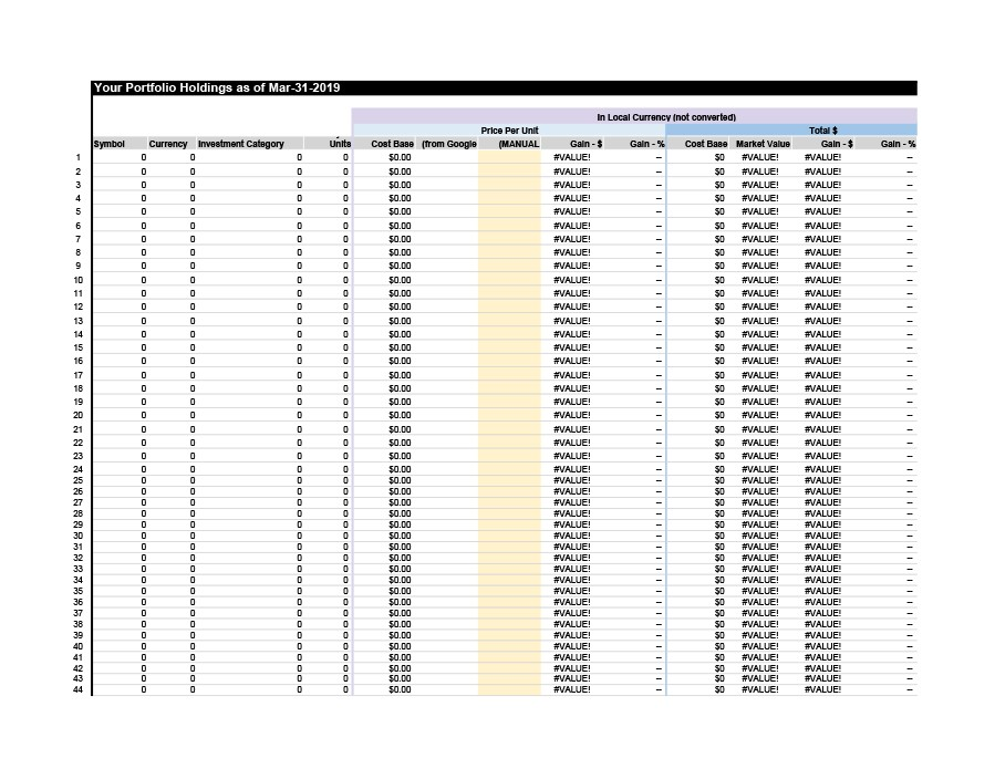 Free investment tracking spreadsheet 03
