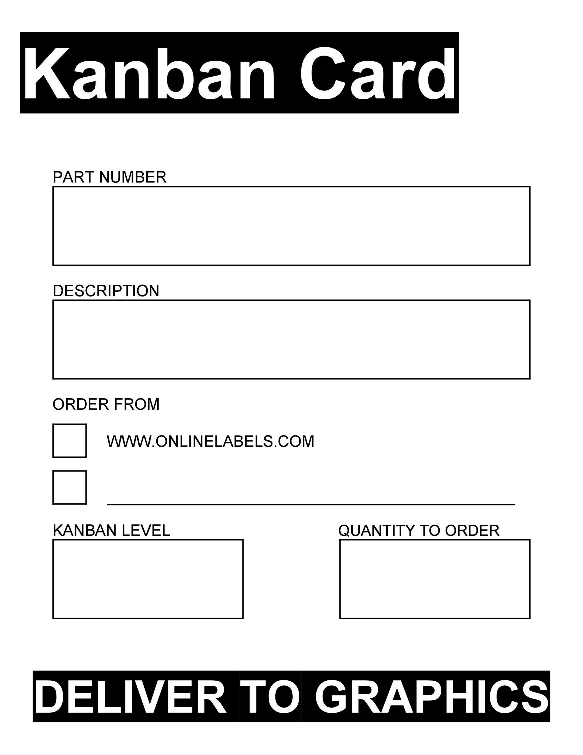 Free kanban card 08