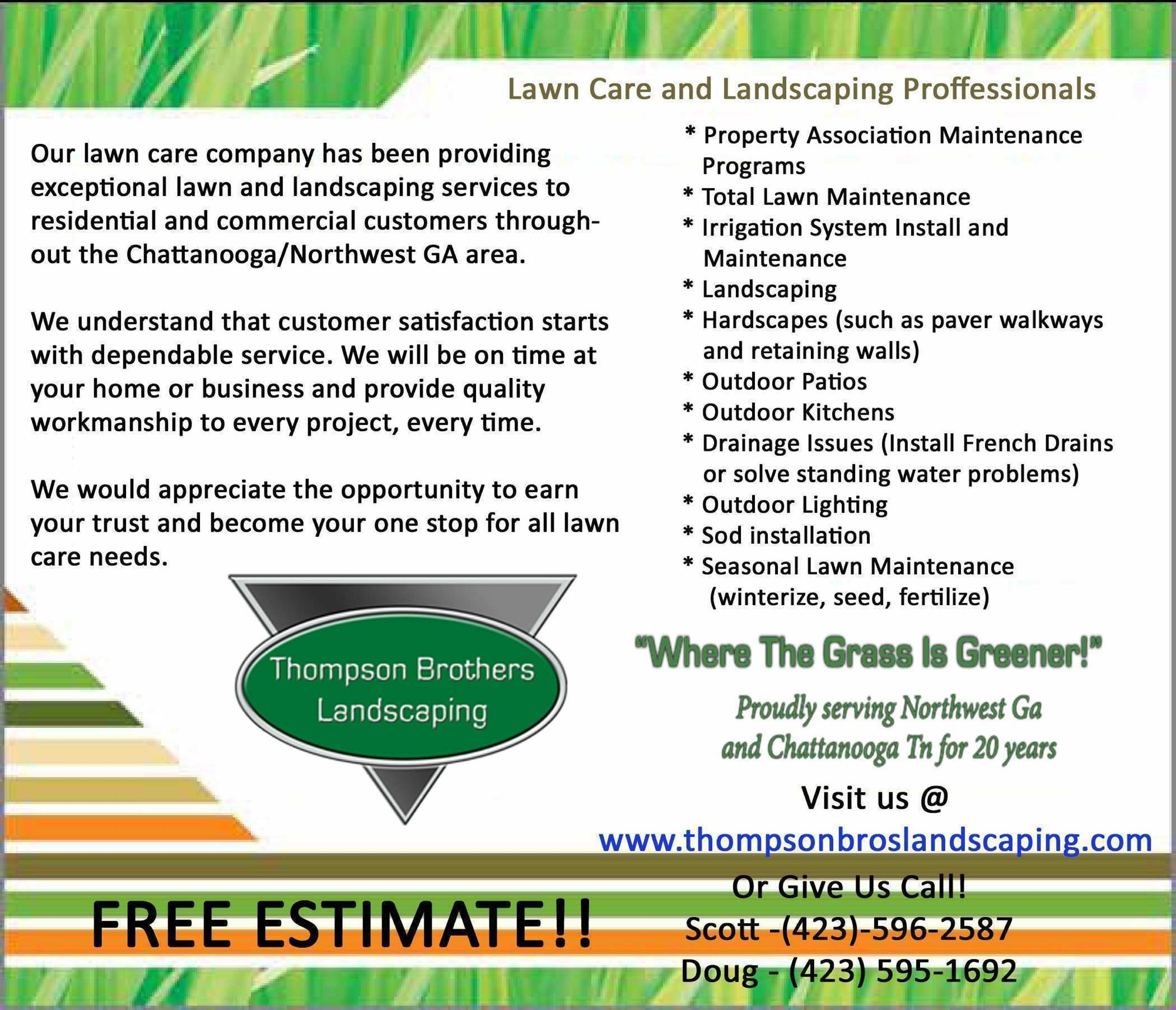 Free lawn care flyer 28