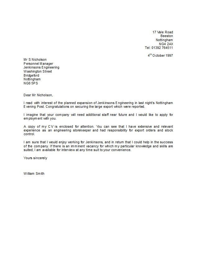 letter-of-application-36 Application Letter For A Local Supermarket on