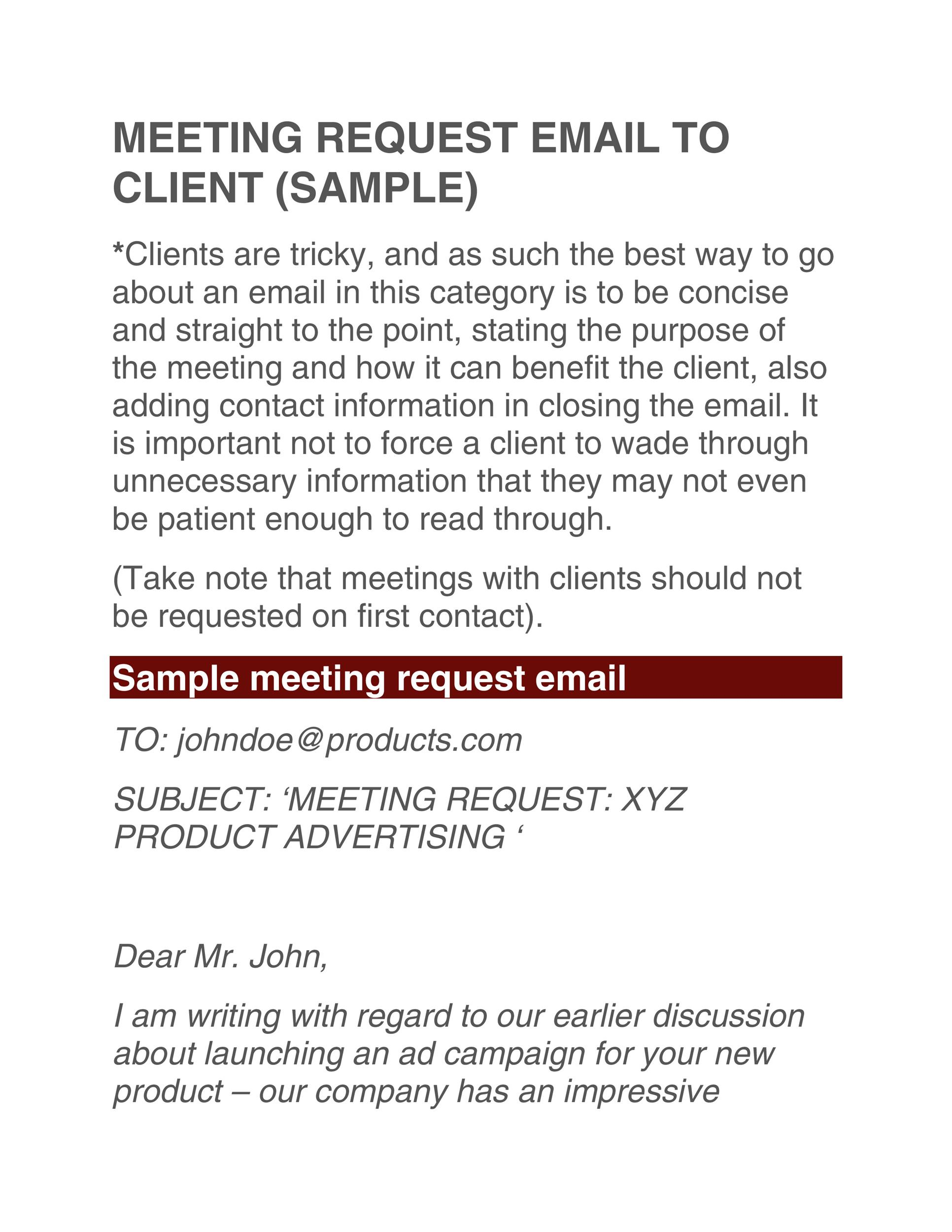 Free meeting request email 27