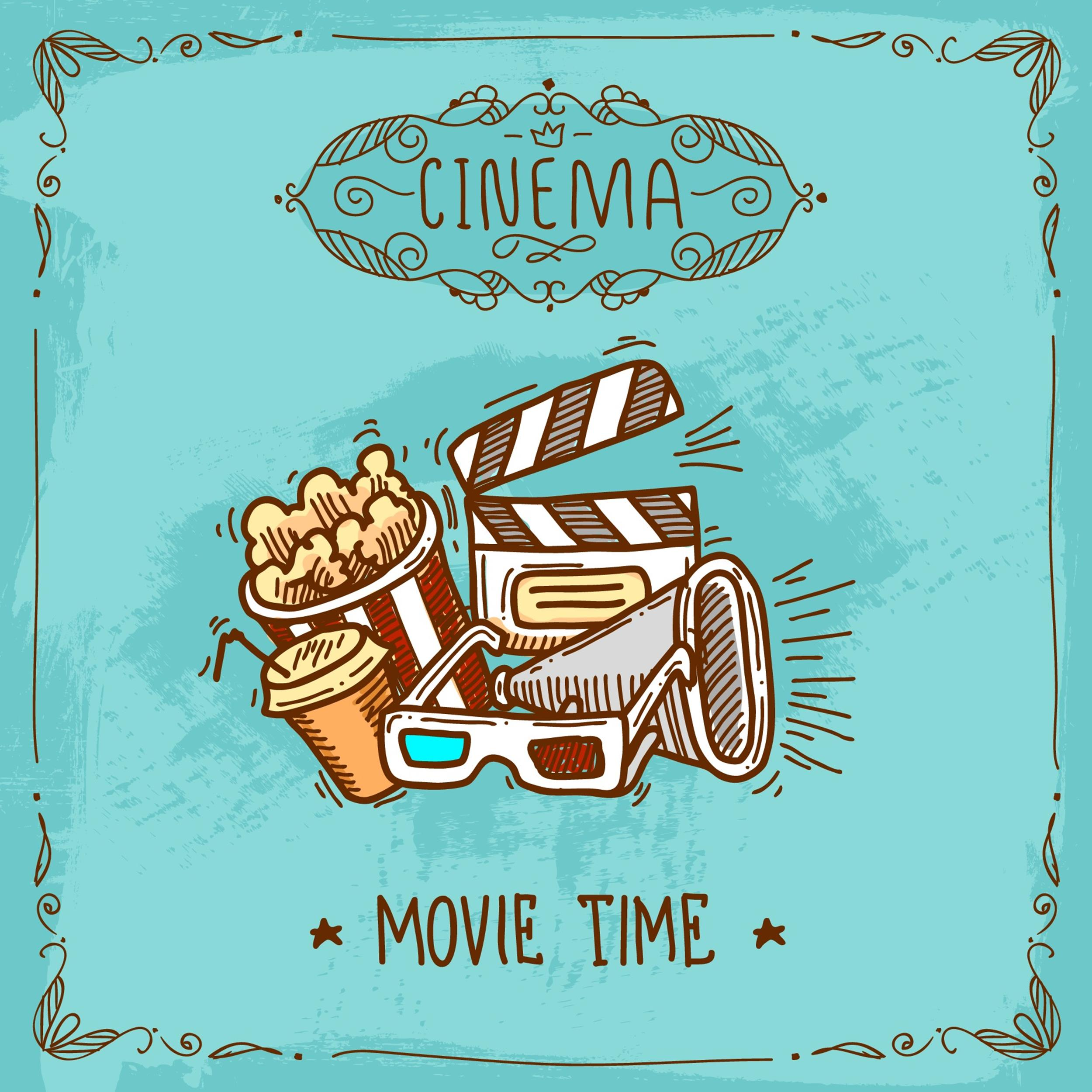 Free movie poster template 06