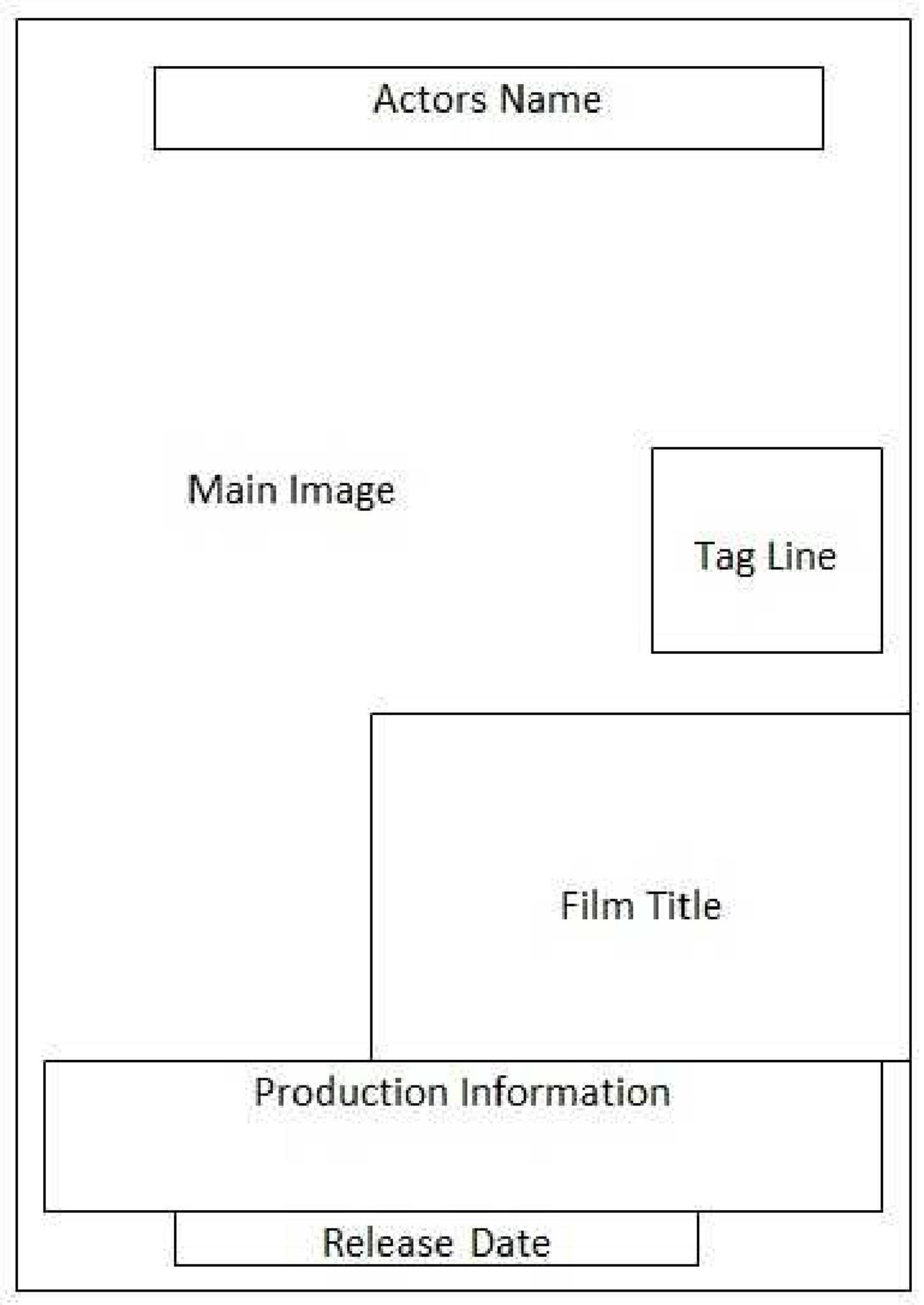 Free movie poster template 18