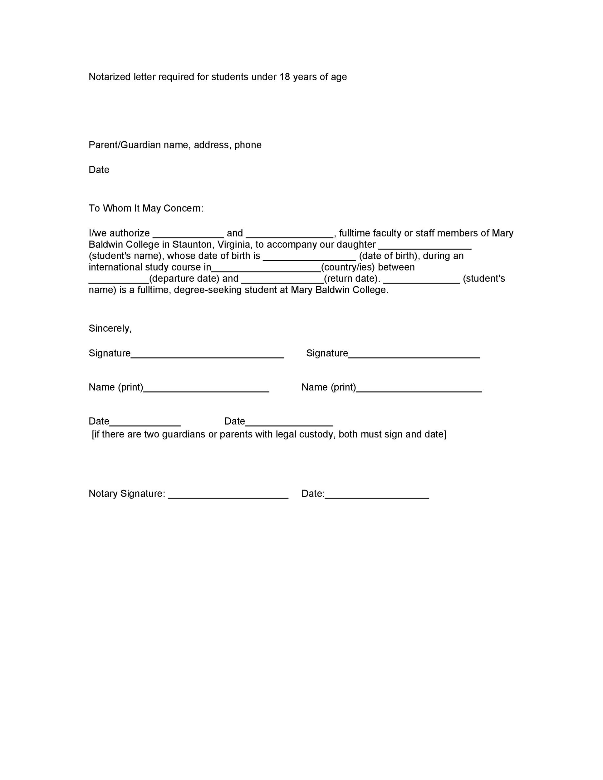 Free notary acknowledgement 29