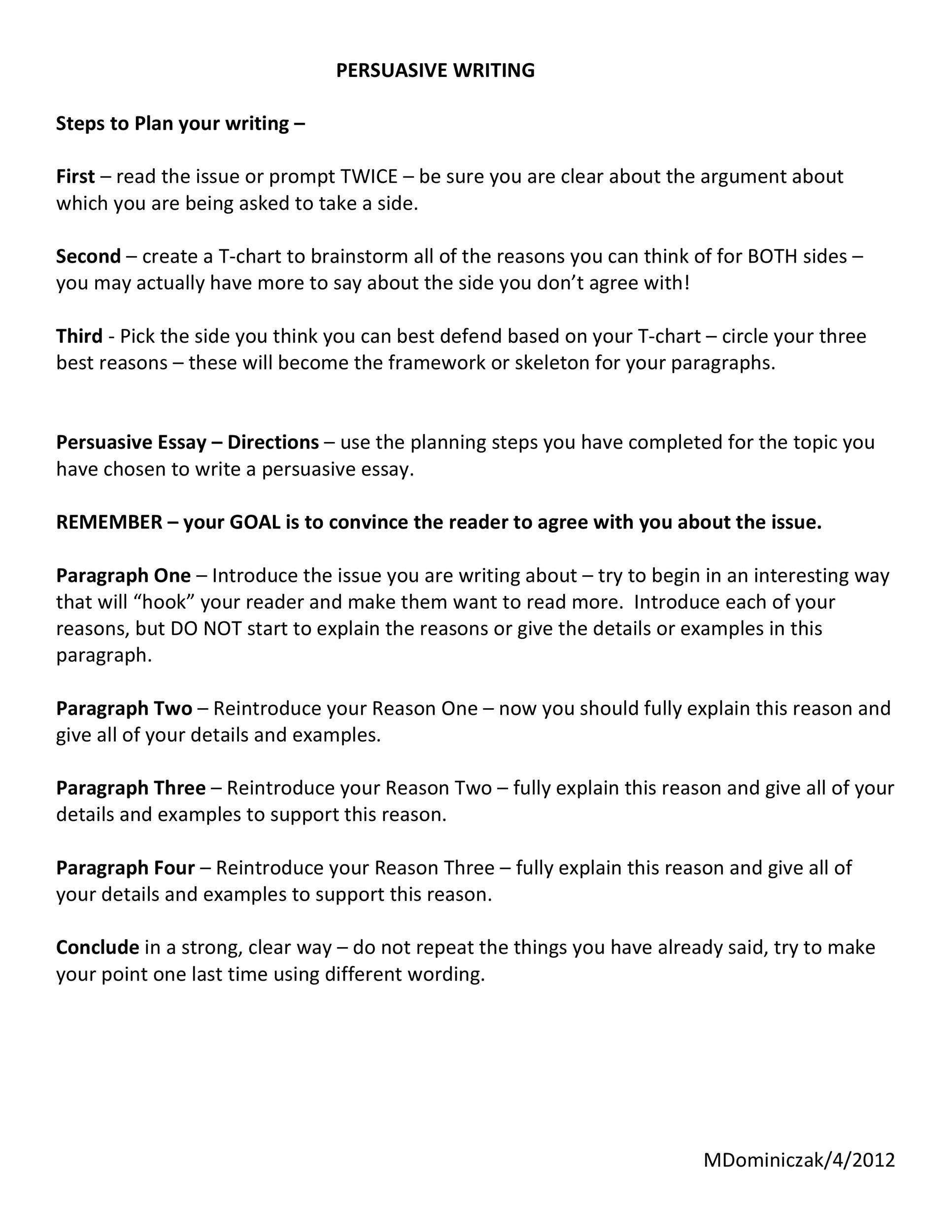 Free persuasive essay example 11