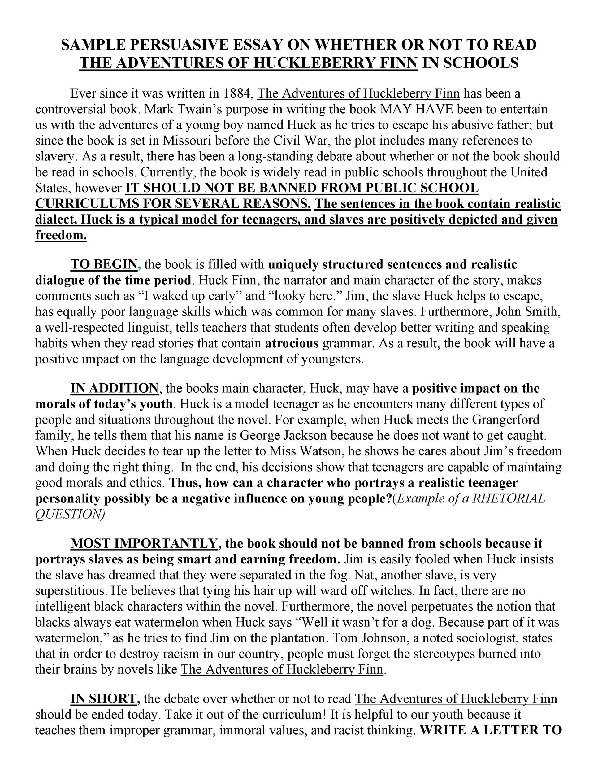 Free persuasive essay example 21