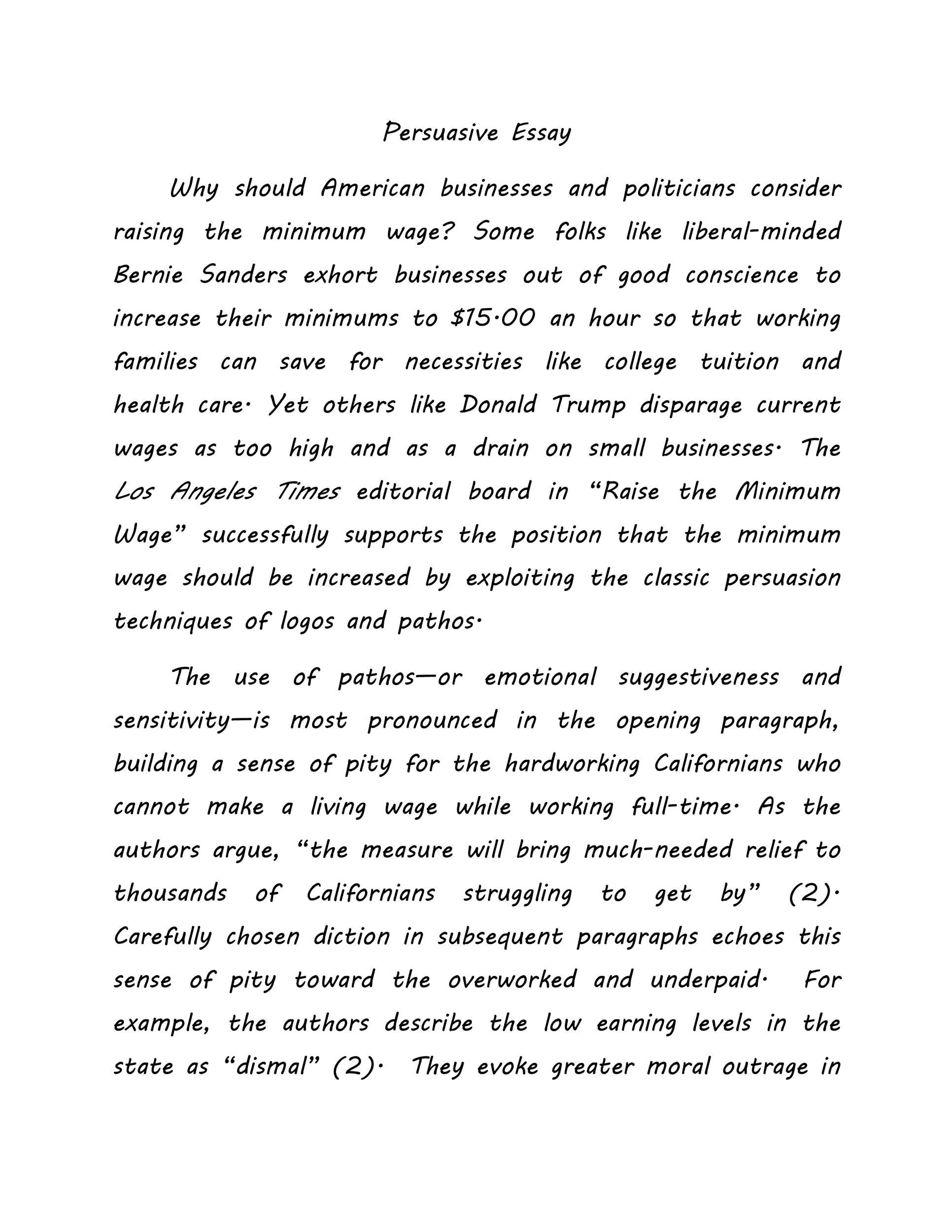 Free persuasive essay example 26