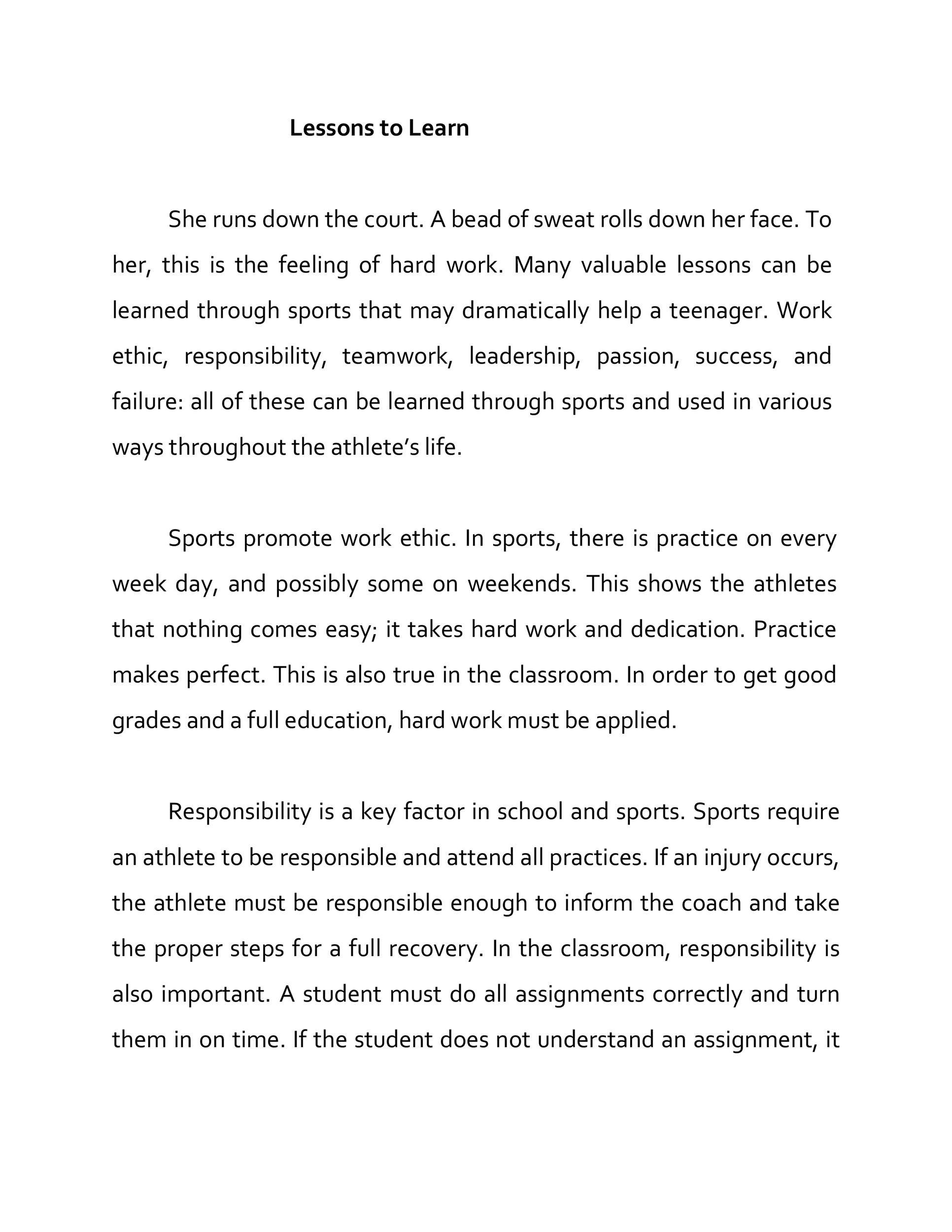 Free persuasive essay example 38