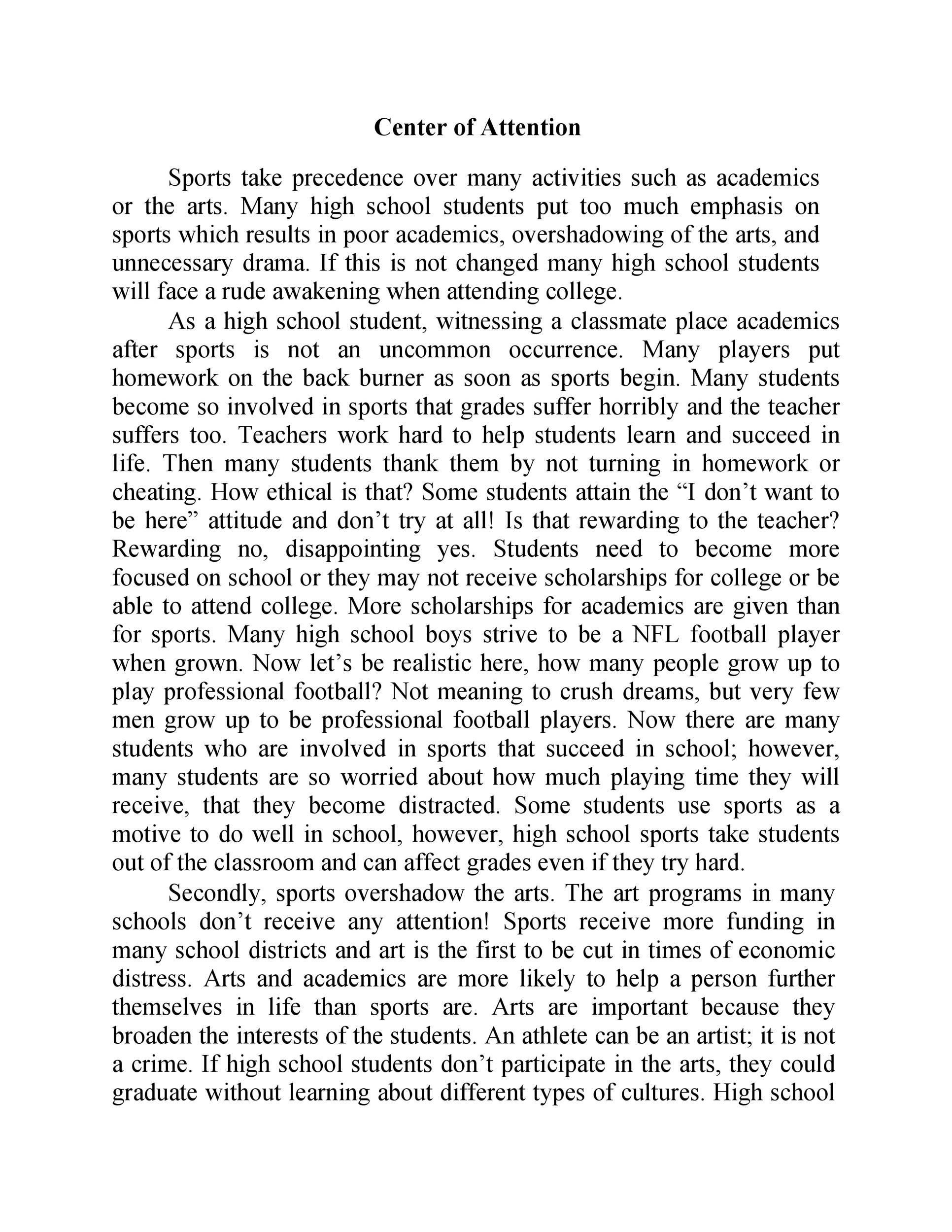 Free persuasive essay example 40