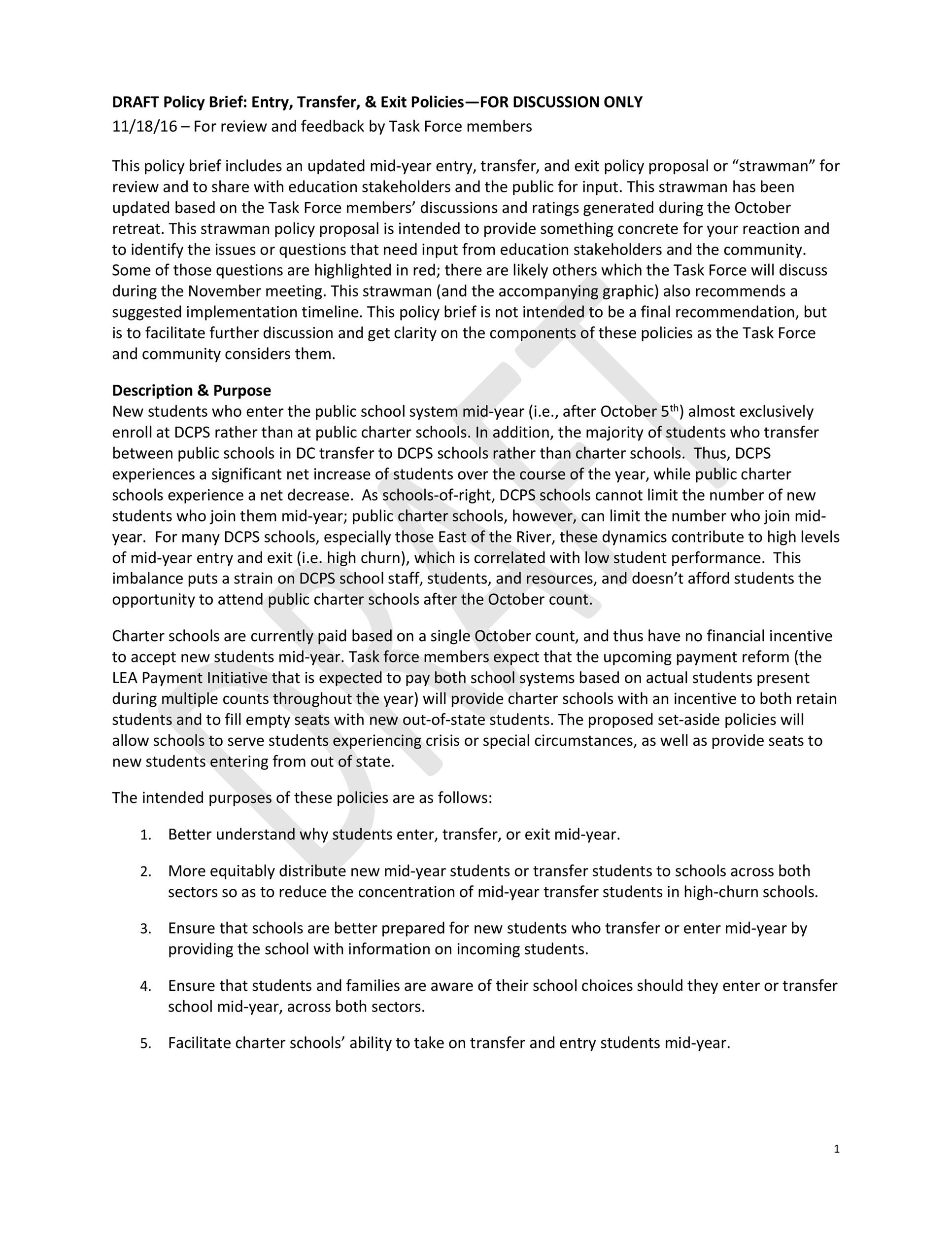 Free policy brief template 15