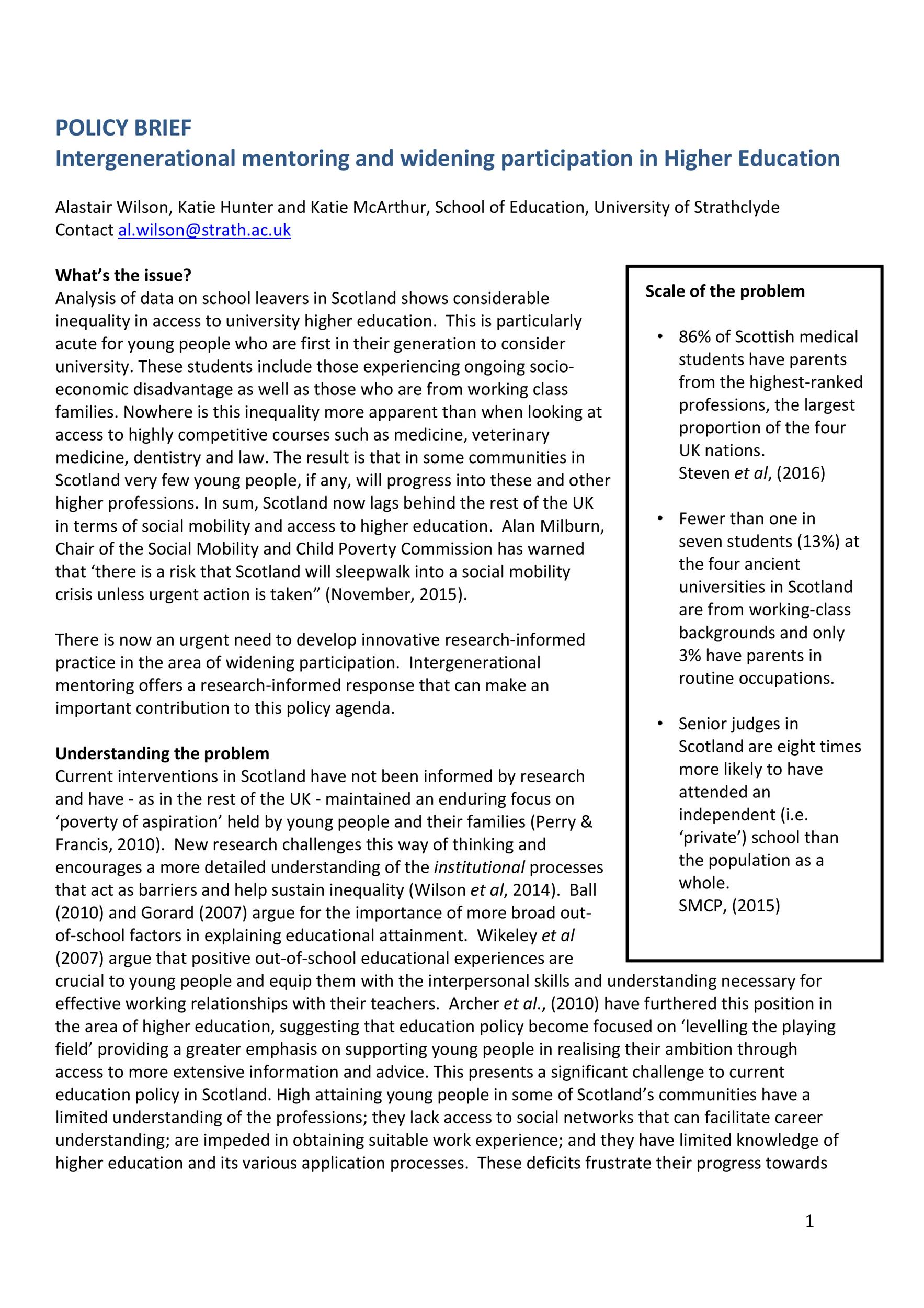 Free policy brief template 18