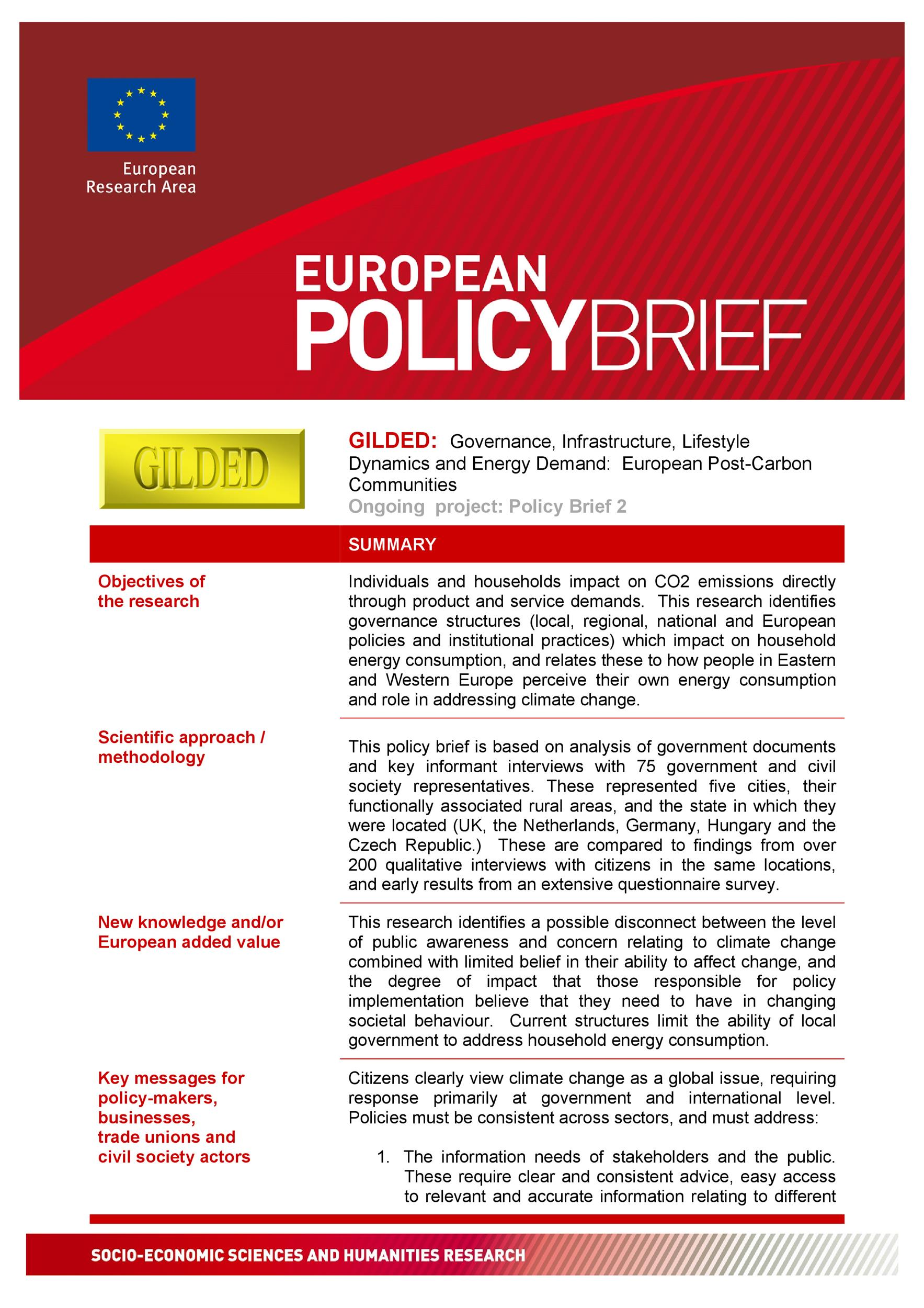 Free policy brief template 29