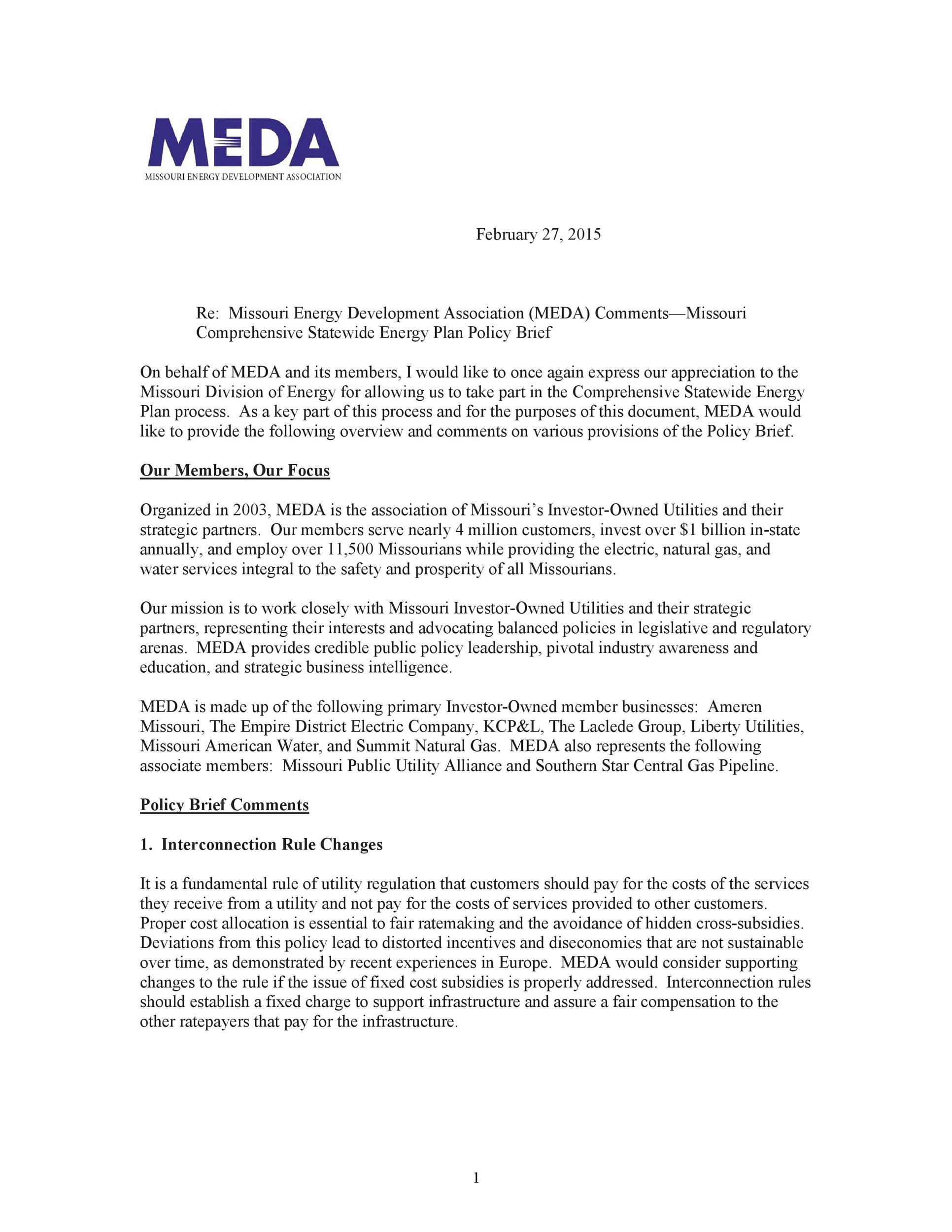 Free policy brief template 33