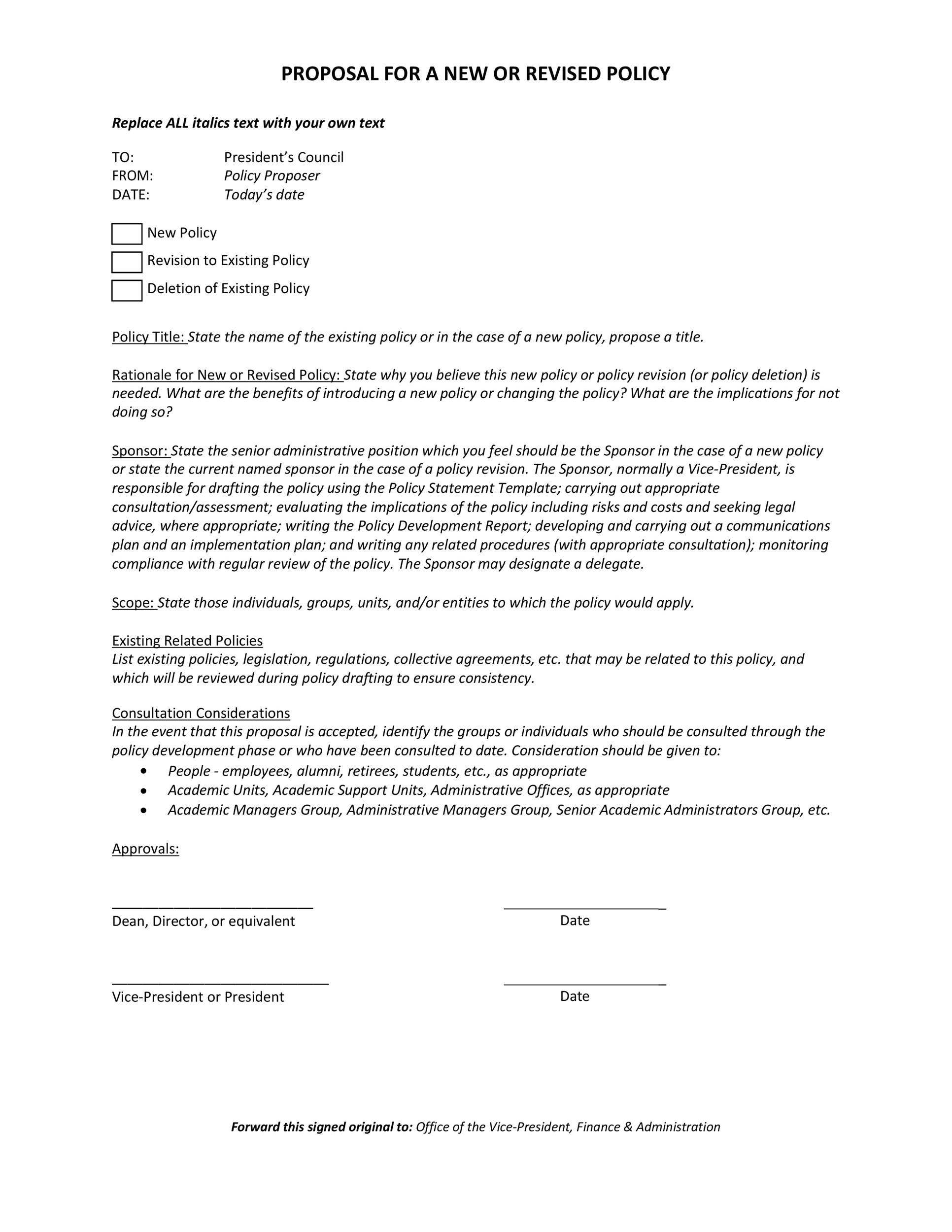 Free policy proposal template 02