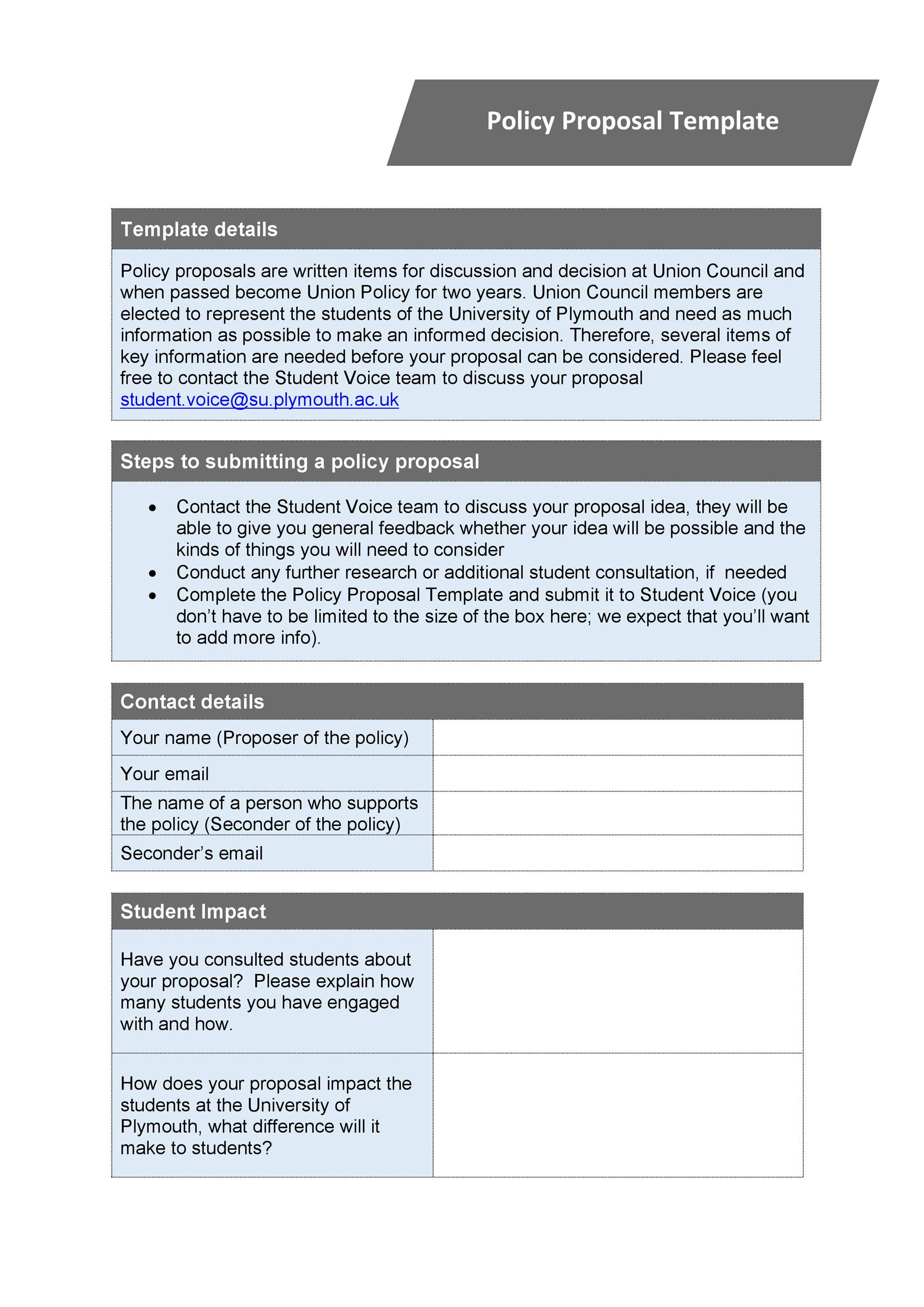 Free policy proposal template 06