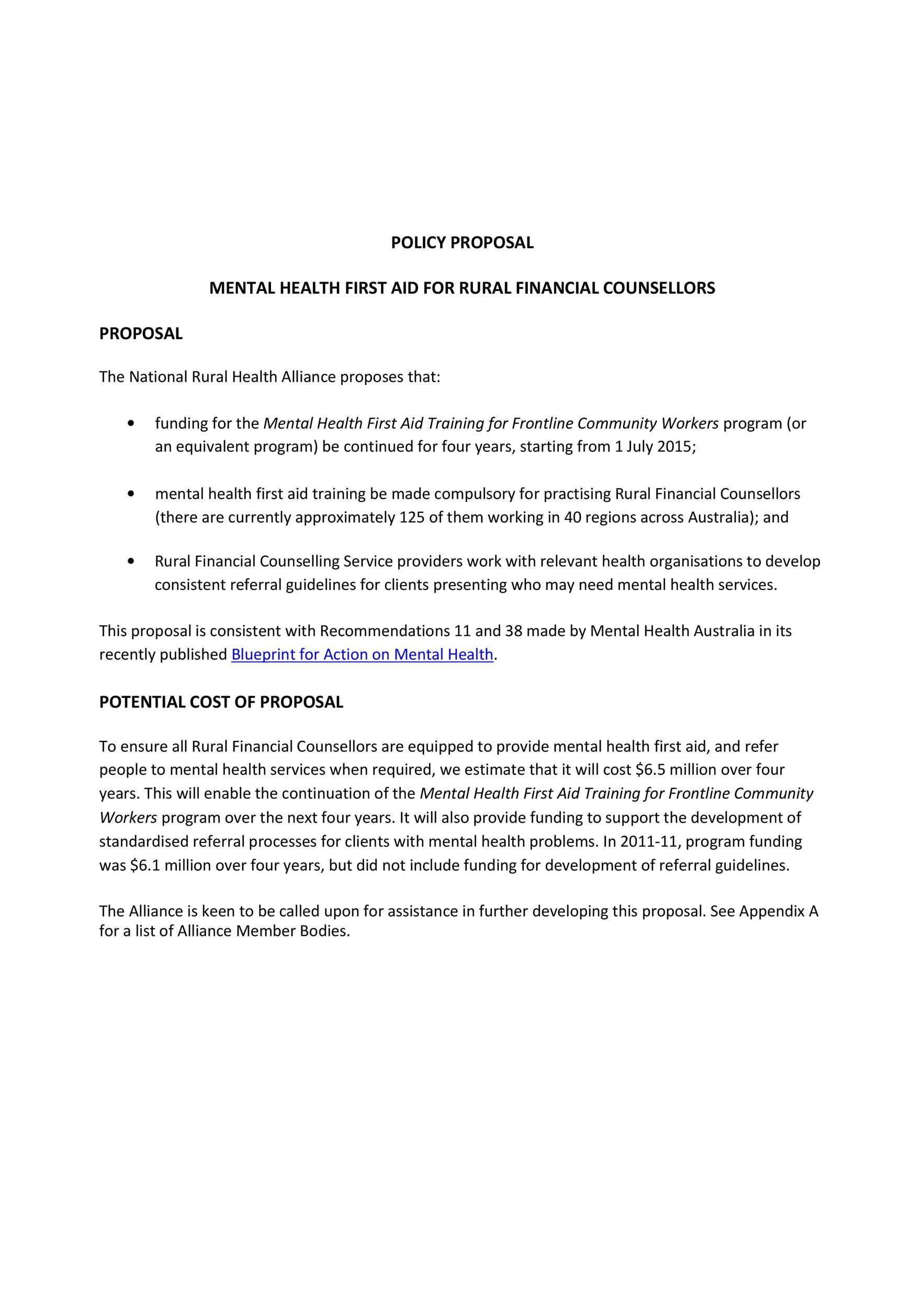 Free policy proposal template 12