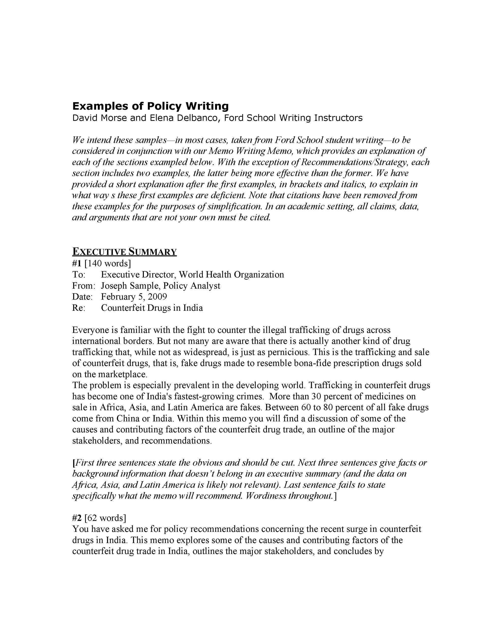 Free policy proposal template 14