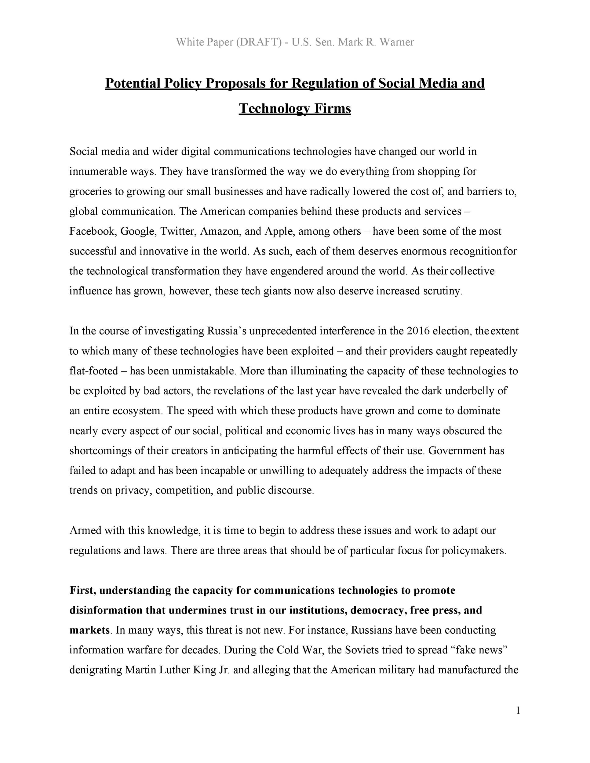 Free policy proposal template 18