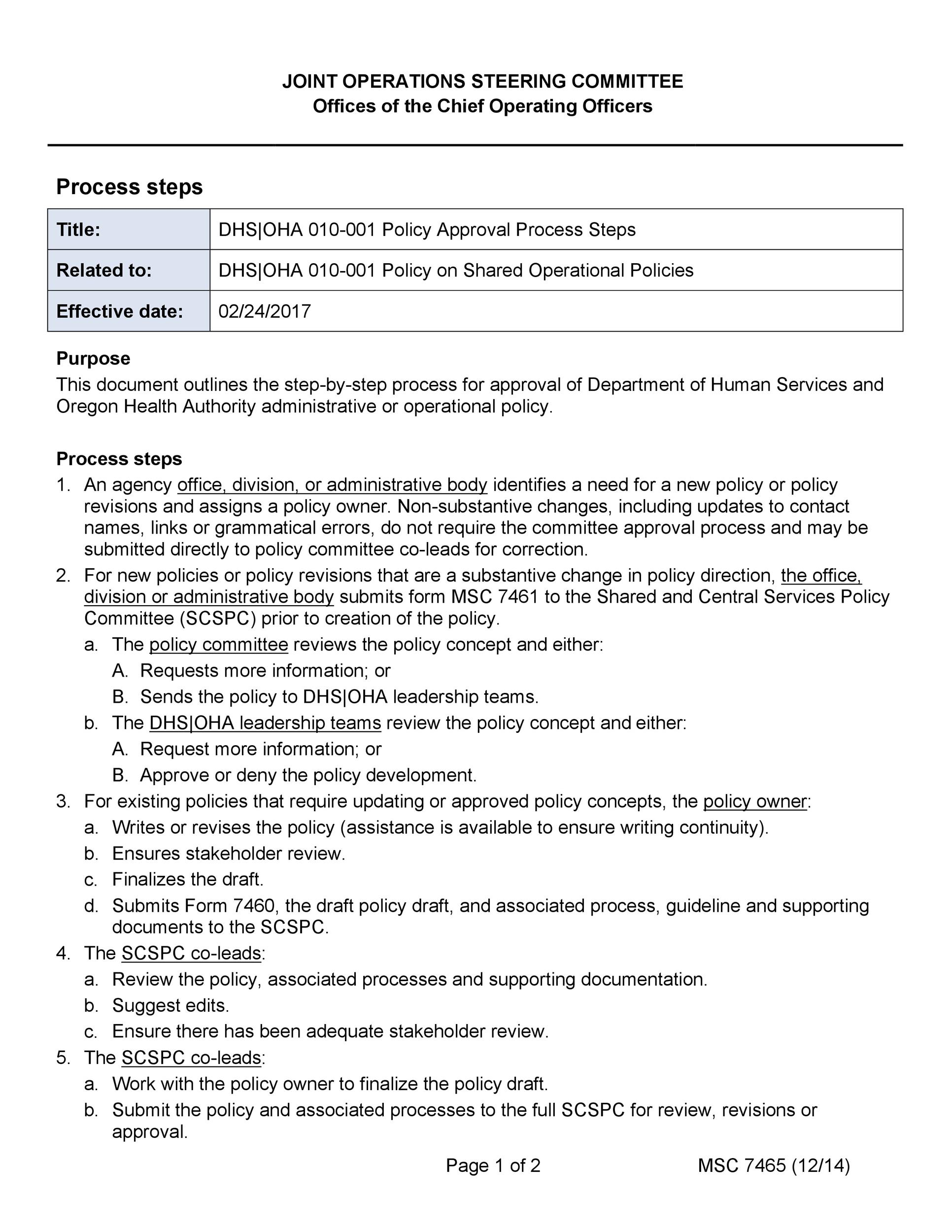 Free policy proposal template 20