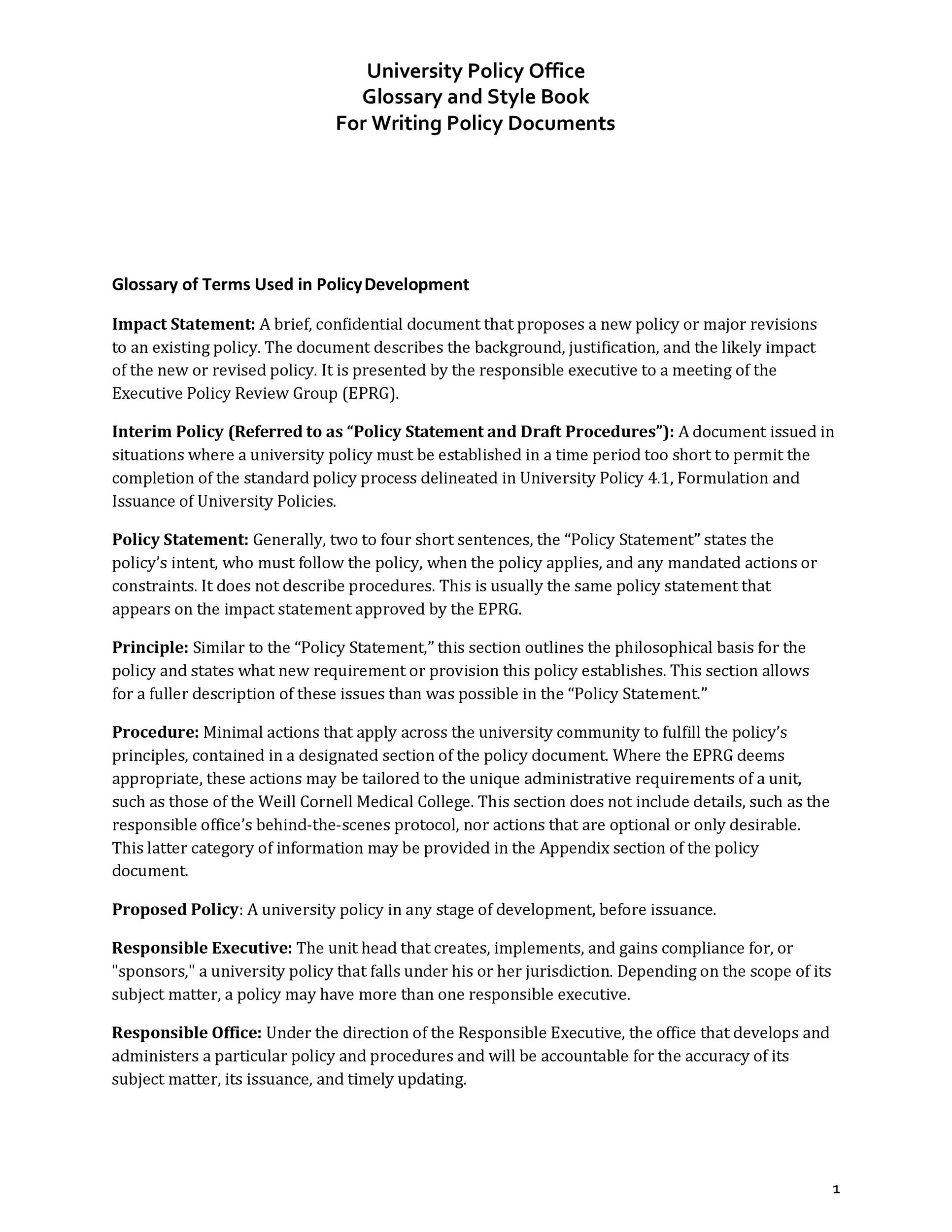 Free policy proposal template 28