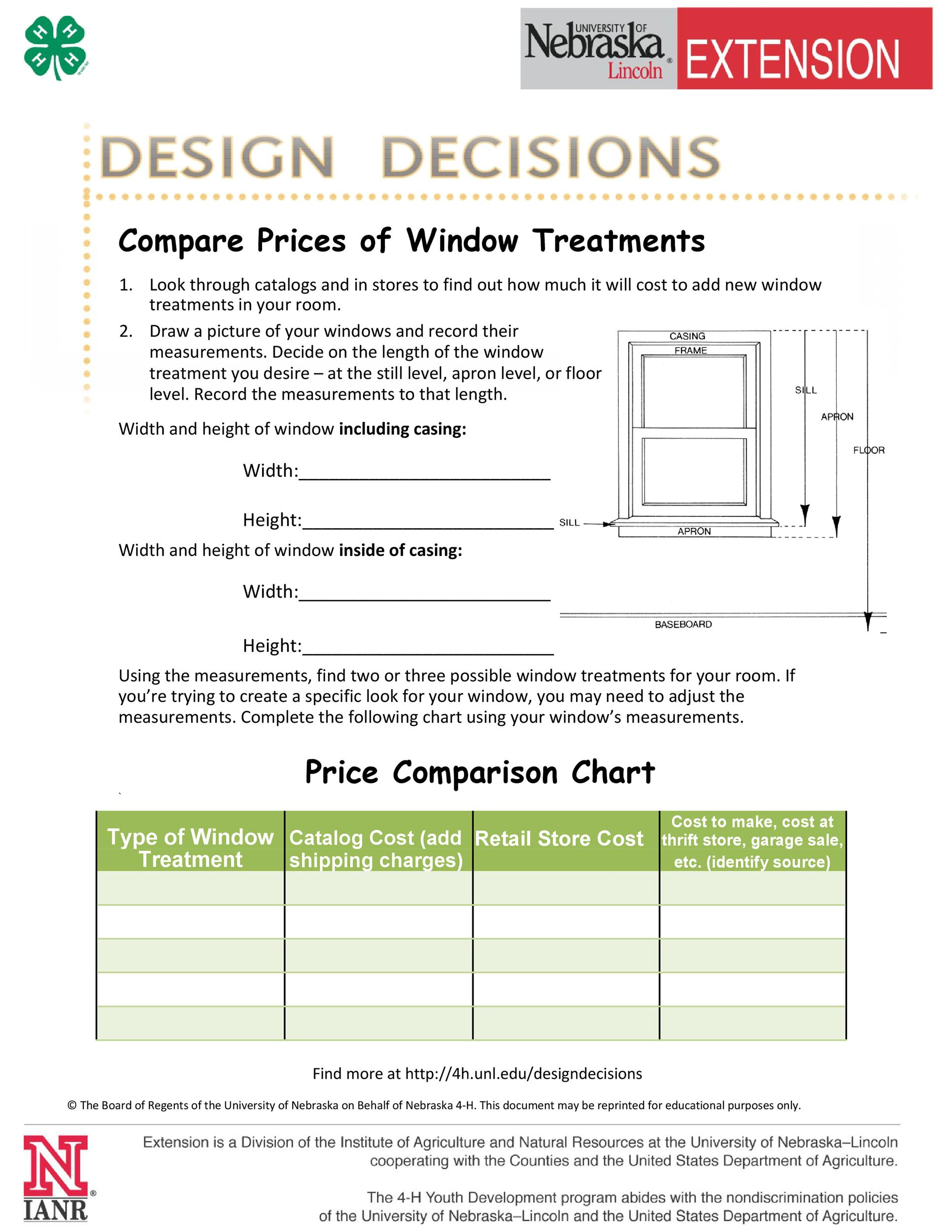 Free price comparison template 30