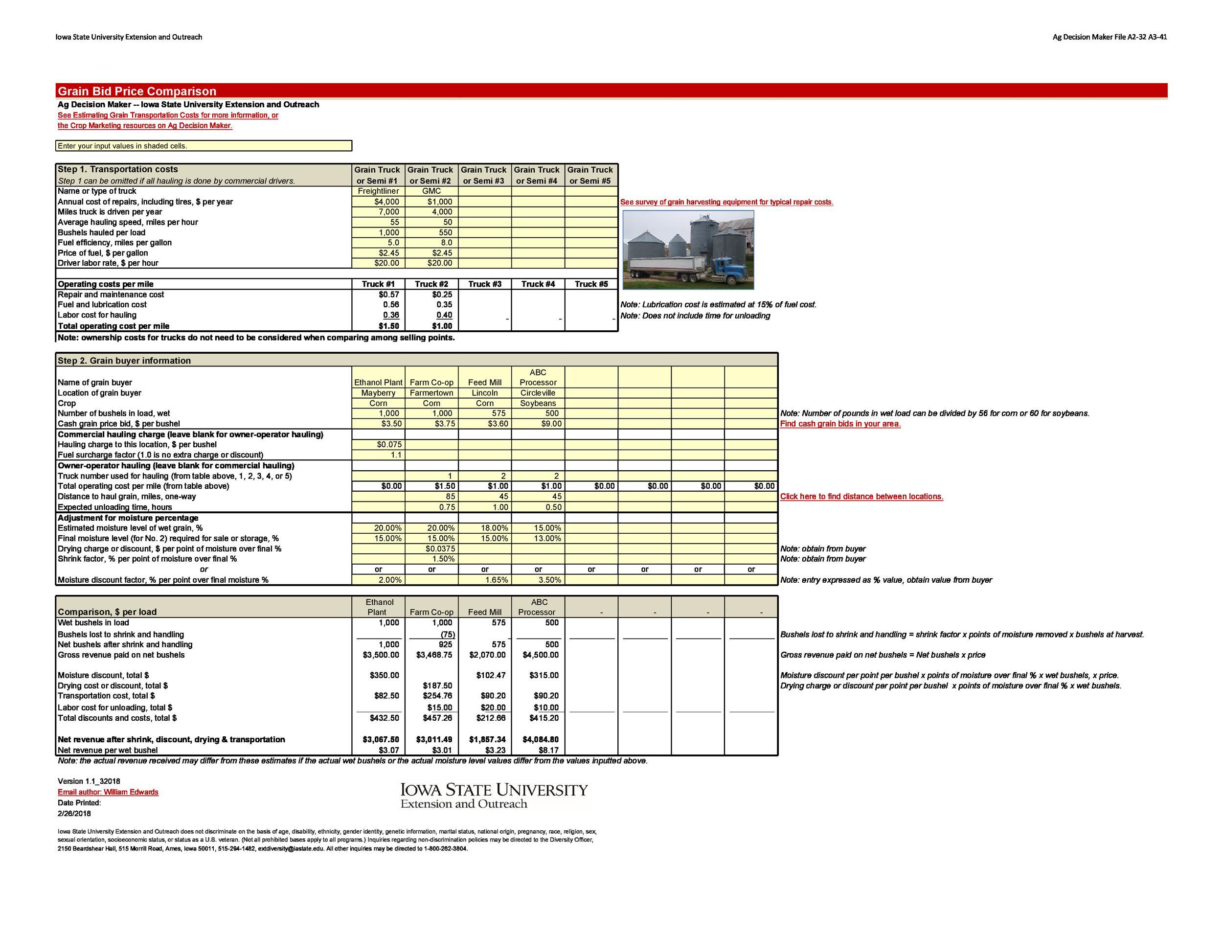 Free price comparison template 35