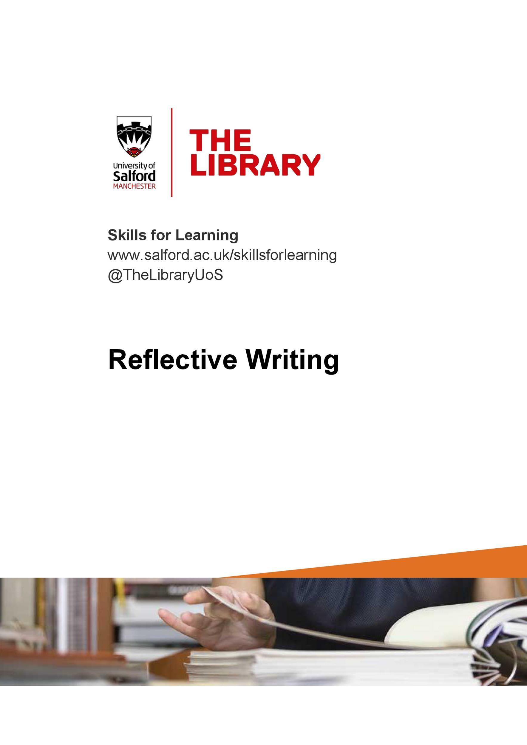 Free reflective essay example 03